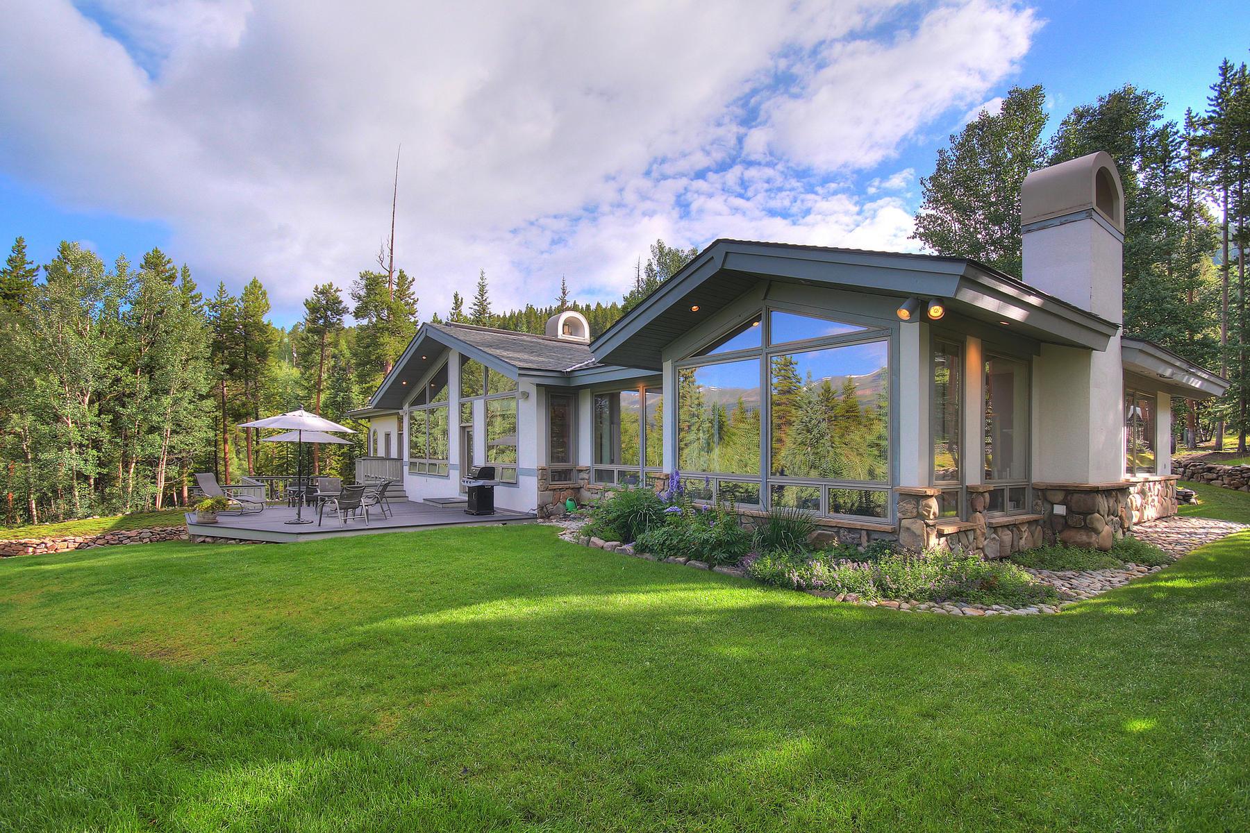 独户住宅 为 销售 在 Home with Majestic Ski Mountain Views on 2+ Acres in Town 1031 Boreas Pass Road 布雷肯里奇, 科罗拉多州, 80424 美国
