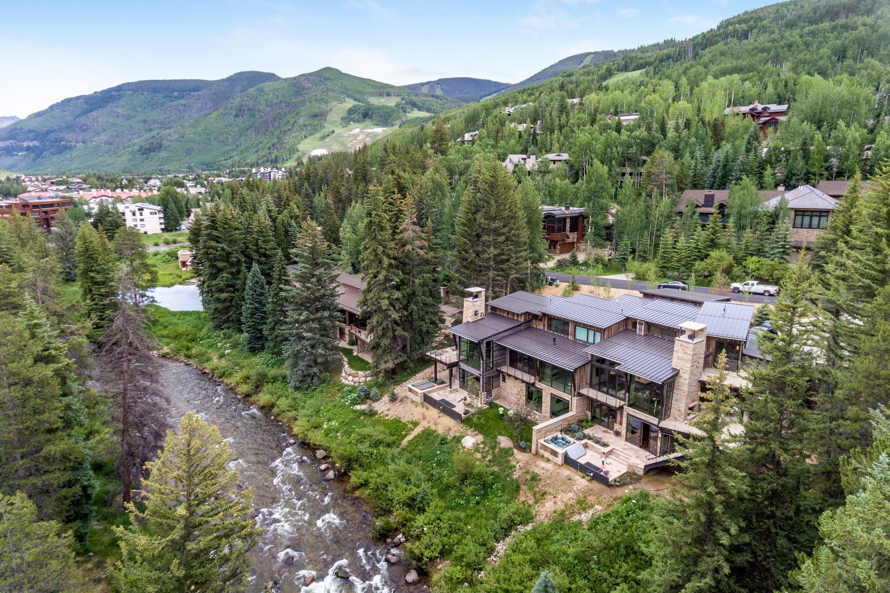 Duplex for Active at New Construction on Gore Creek 223 Beaver Dam Road Vail, Colorado 81657 United States