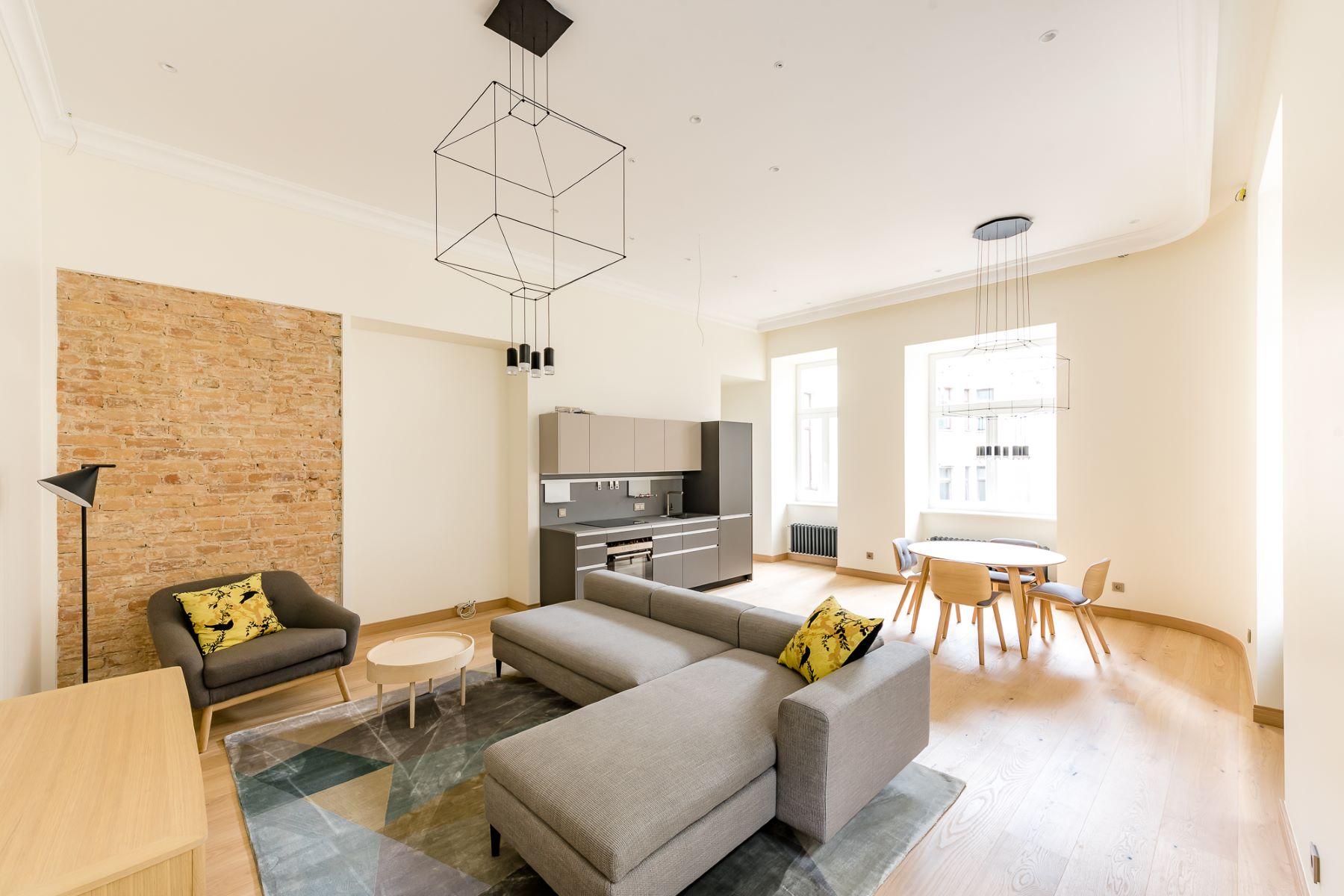 Appartement pour l à vendre à Lovely apartment in the heart of Riga Riga, Autres Régions De Lettonie, Lettonie
