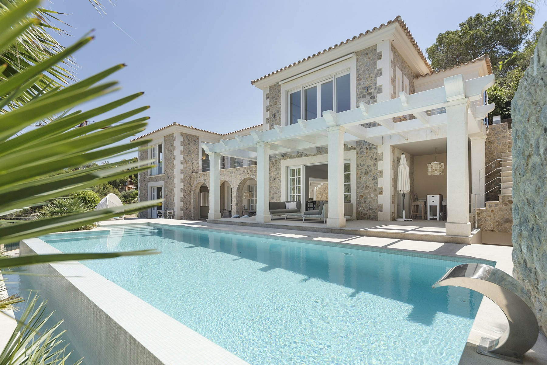 Single Family Home for Sale at Mediterranean-style villa in Camp de Mar Other Balearic Islands, Balearic Islands, Spain