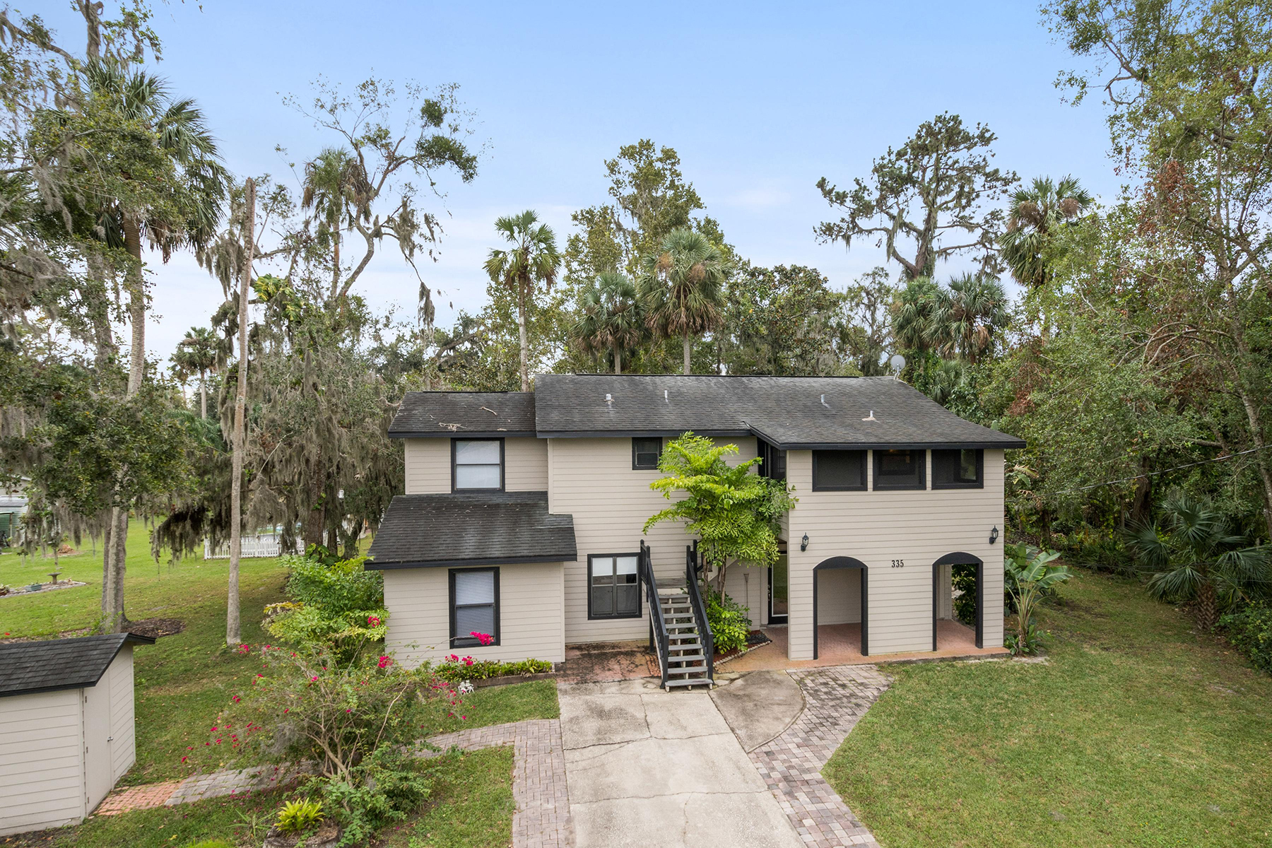 Single Family Home for Sale at ORLANDO - DEBARY 335 Lake Crescent Dr Debary, Florida 32713 United States