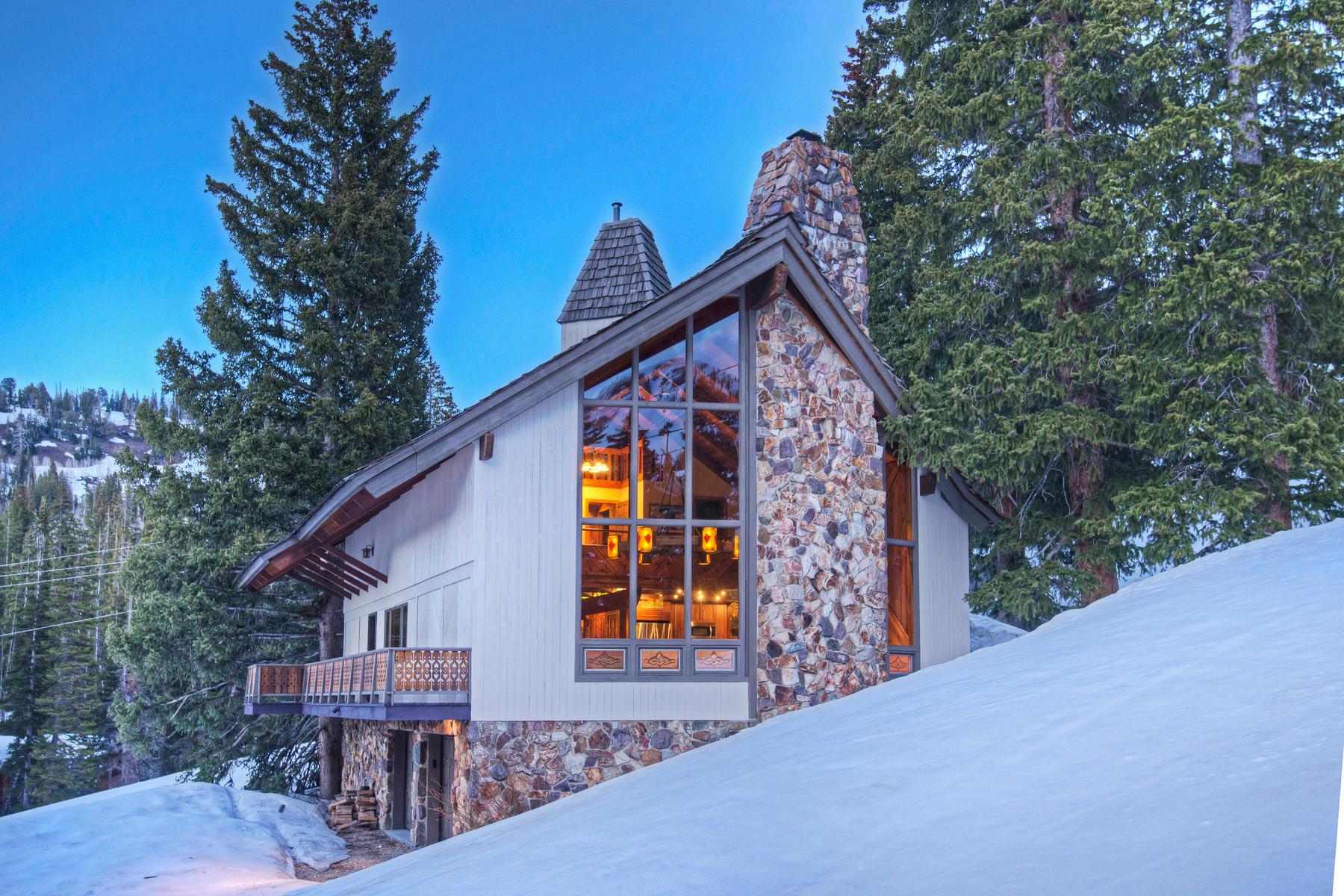 Moradia para Venda às Ski in /Ski out Mountain Luxury Cabin 8521 Snake Creek Rd Brighton, Utah, 84121 Estados Unidos