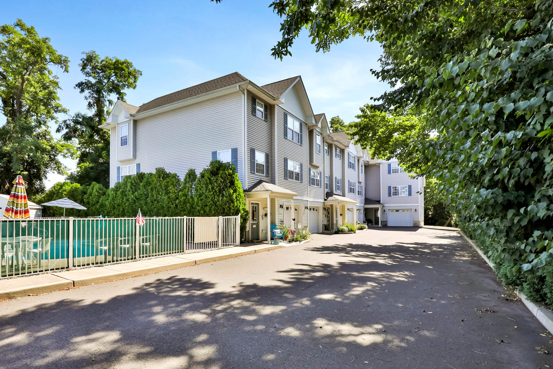 Condominiums for Sale at Beautiful Luxury Townhouse With Ingound Pool 1206 Charleston Street Point Pleasant Beach, New Jersey 08742 United States
