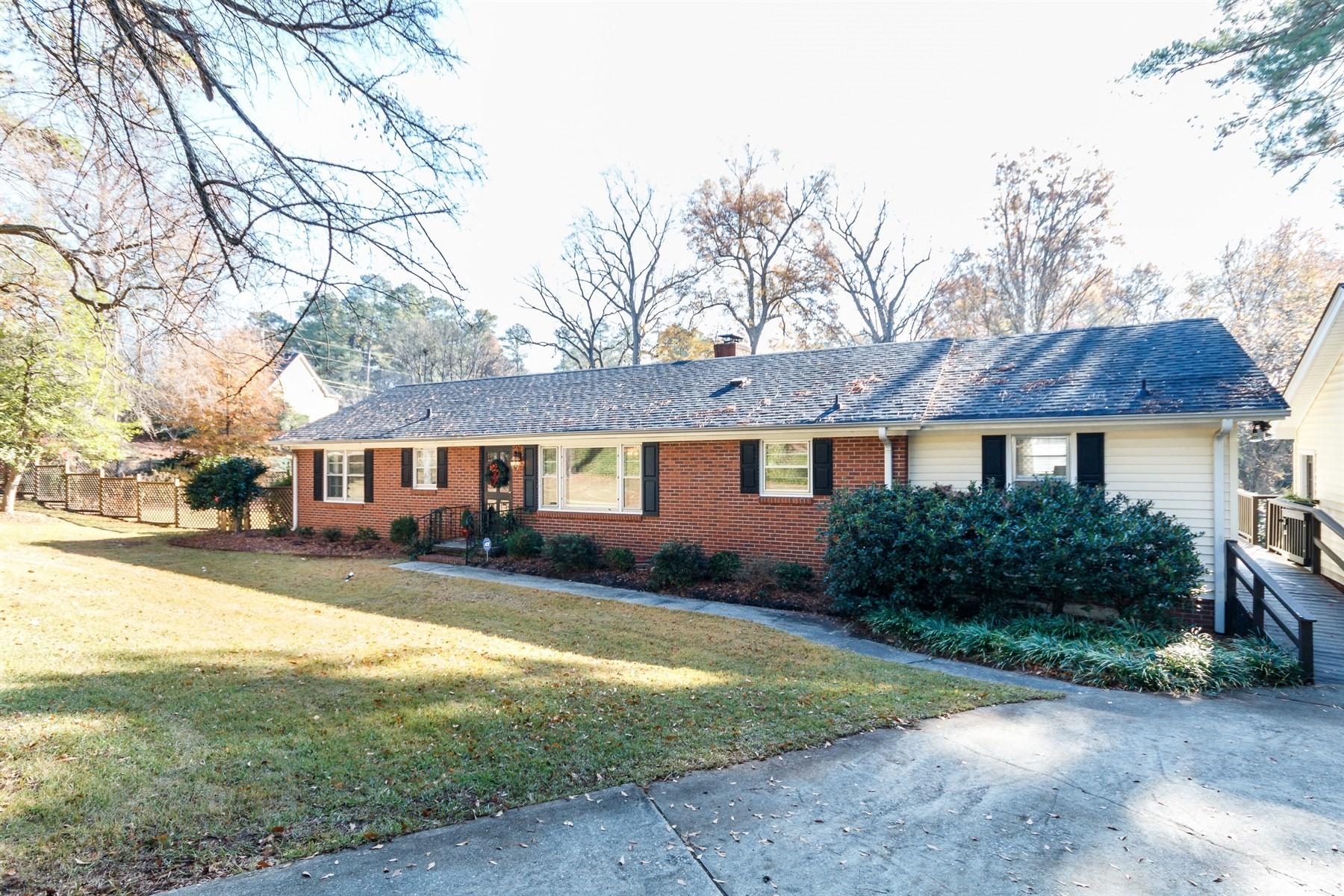 Single Family Home for Sale at Plantation Road Ranch 3034 Plantation Road Raleigh, North Carolina 27608 United States