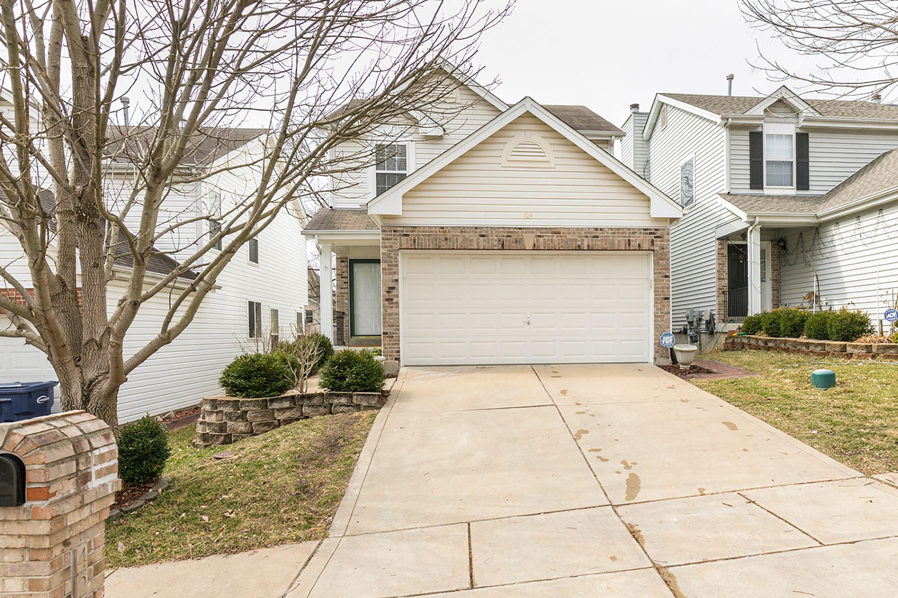 Casa Unifamiliar por un Venta en Summit Place 424 Summit Place Ct, Fenton, Missouri, 63026 Estados Unidos
