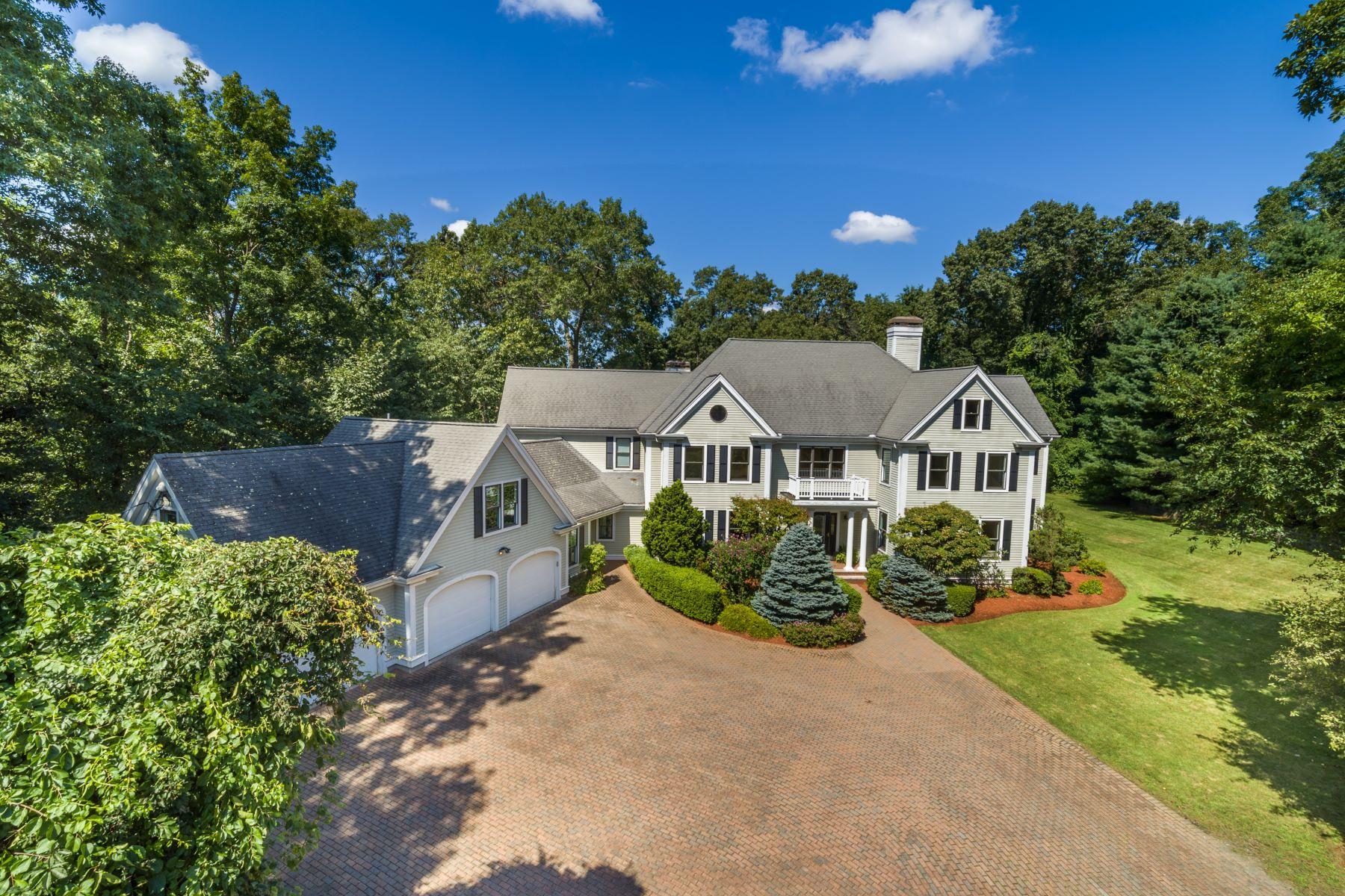 Single Family Homes pour l Vente à 275 Dudley Road Newton, Massachusetts 02459 États-Unis