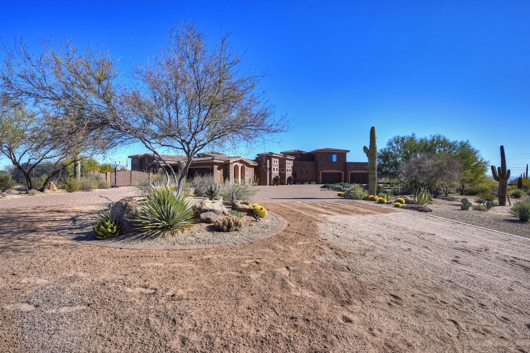 Vivienda unifamiliar por un Venta en Impeccably maintained home in the gated community of Granite Mountain Ranch 14334 E Windstone Trl Scottsdale, Arizona, 85262 Estados Unidos