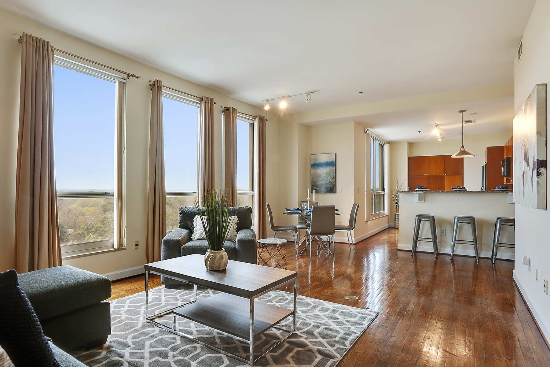 Condominium for Active at Downtown Views From Buckhead High Rise 2626 Peachtree Road NW Unit 1403 Atlanta, Georgia 30305 United States