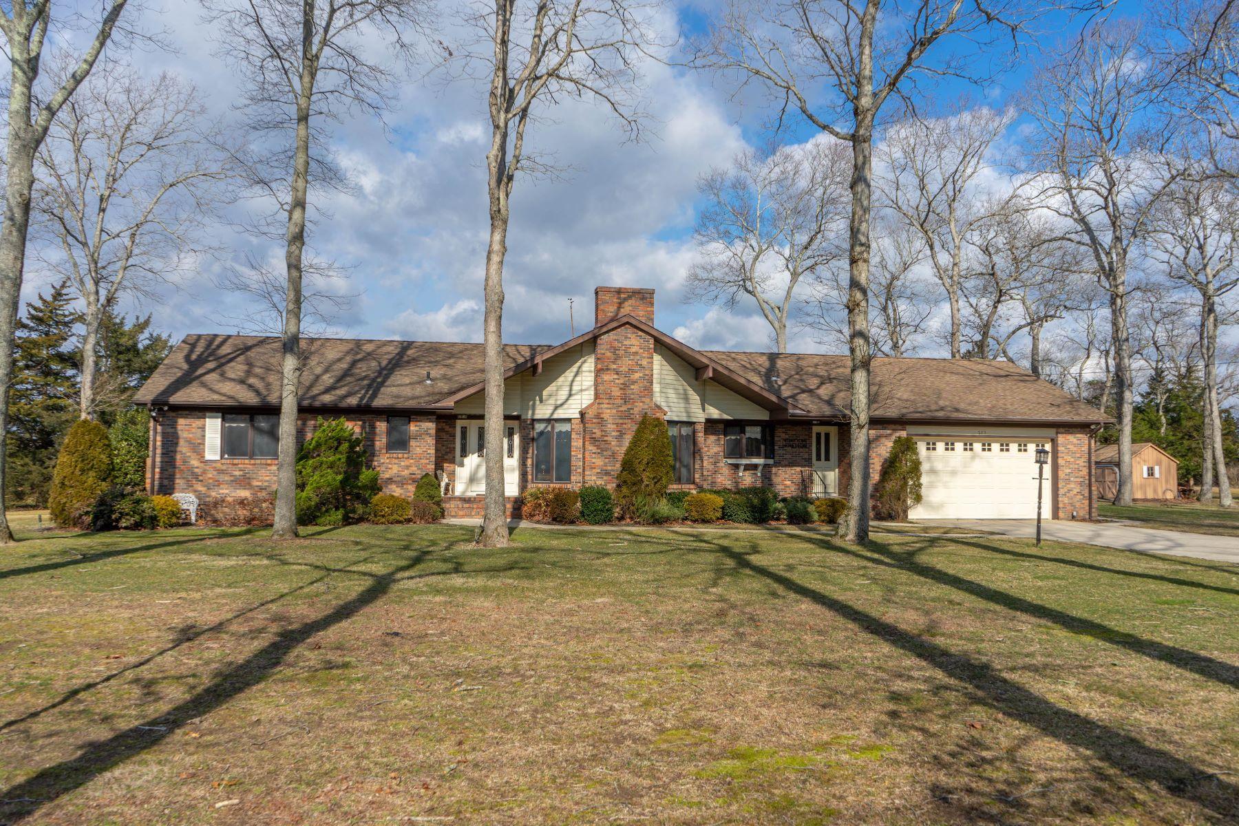 Single Family Homes для того Продажа на Immaculate Estate 223 Corson Tavern Road, South Seaville, Нью-Джерси 08246 Соединенные Штаты
