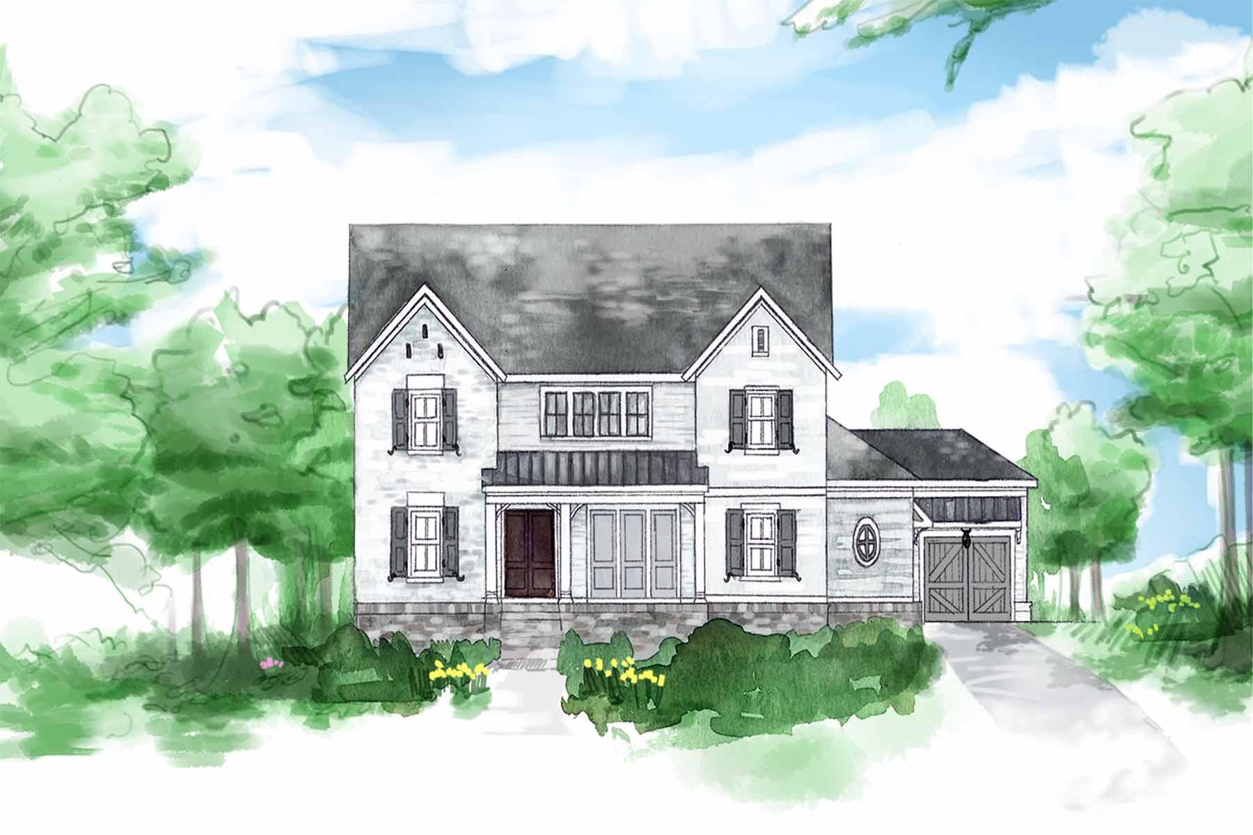 Tek Ailelik Ev için Satış at Welcome to Birch Grove in Marietta 2187 Bliss Lane Marietta, Georgia, 30062 Amerika Birleşik Devletleri