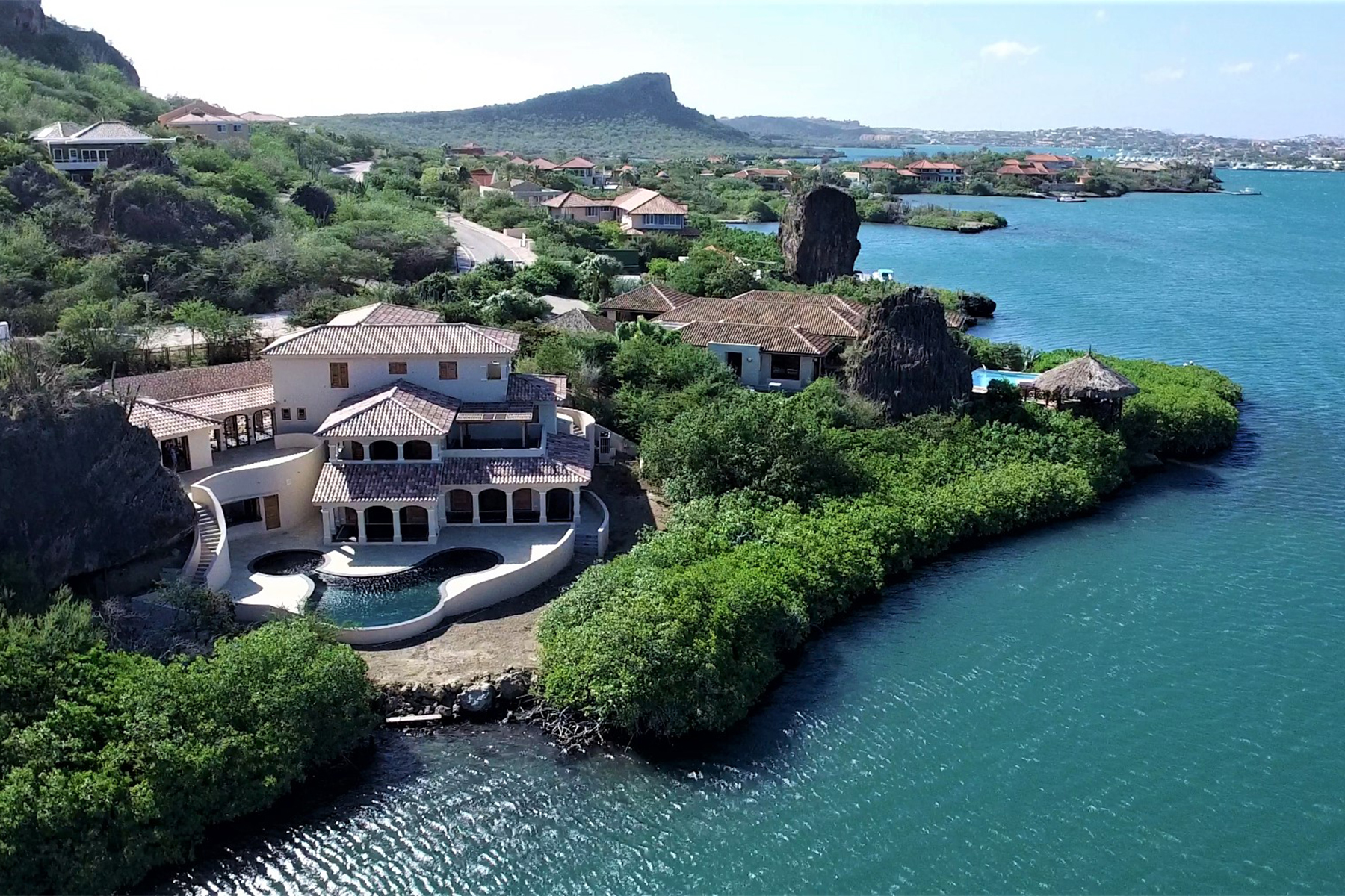 Single Family Home for Sale at Seru Boca Estate Waterfront Villa 4 Other Cities In Curacao, Cities In Curacao Curacao