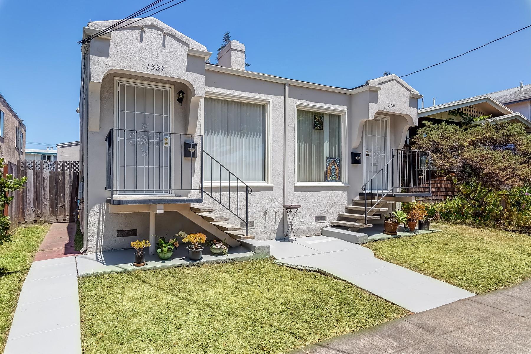 Duplex for Sale at Darling Duplex In Desirable Berkeley 1337 Hearst Avenue Berkeley, California 94702 United States