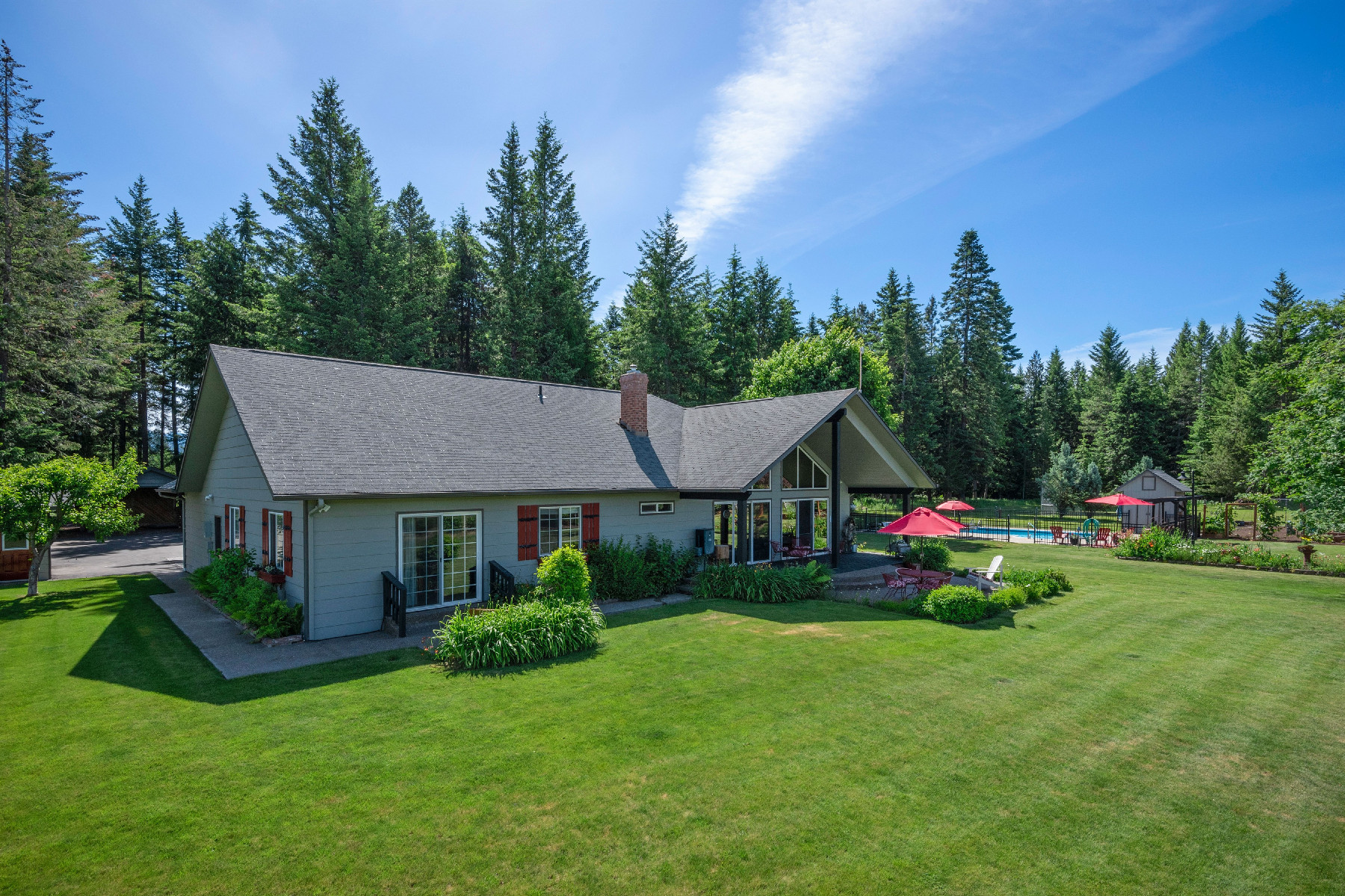 Single Family Homes for Sale at 1887 Homestead Loop Bonners Ferry, Idaho 83805 United States