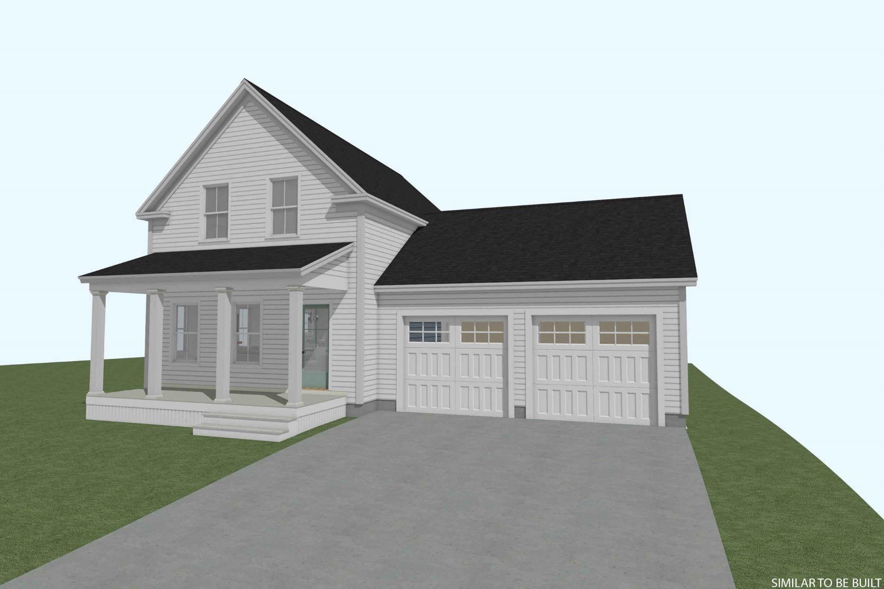 Single Family Homes for Sale at Nearly Complete 3 Bedroom Colonial in Wells 83 Edgewood Road, Wells, Maine 04090 United States