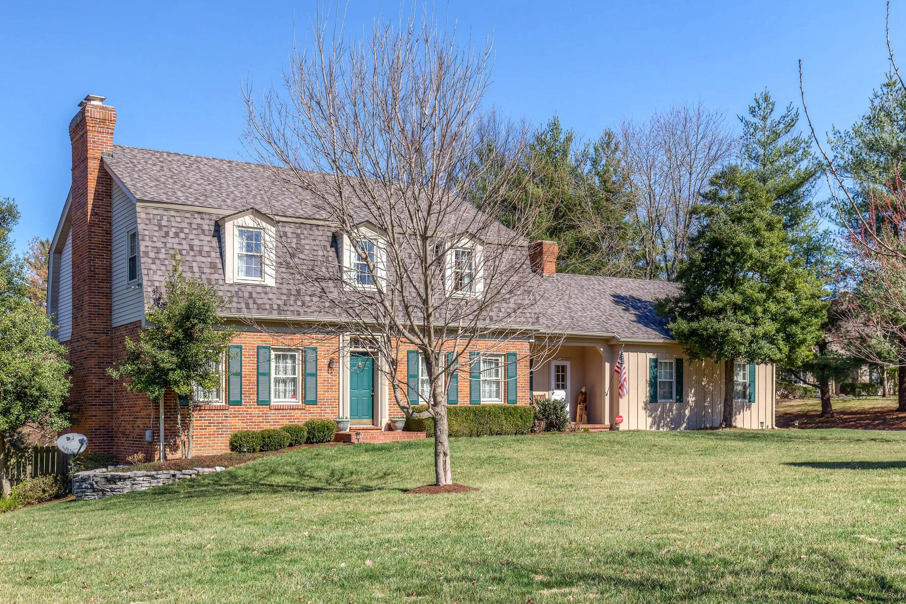 Maison unifamiliale pour l Vente à Conway Road 12609 Conway Road Creve Coeur, Missouri, 63141 États-Unis