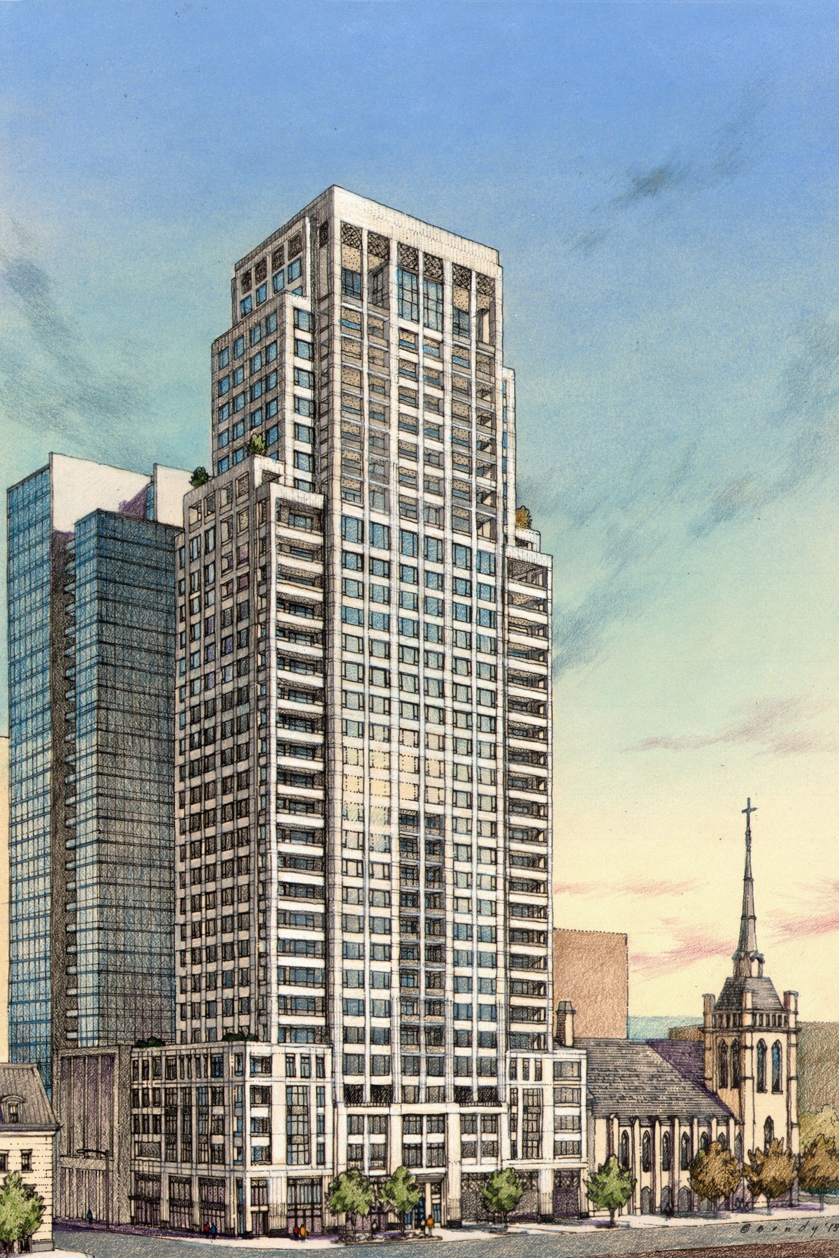Copropriété pour l Vente à The Gold Coast's Newest and Finest Building 9 W Walton Street Unit 2001 Near North Side, Chicago, Illinois, 60610 États-Unis