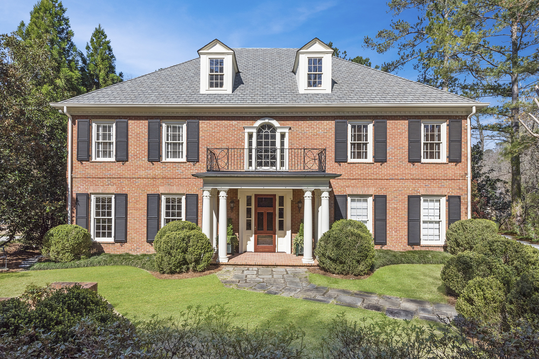 Single Family Home for Sale at Classic Brick Traditional On A Private Cul-de-sac In The Heart Of Buckhead 16 Habersham Park NW Atlanta, Georgia 30305 United States