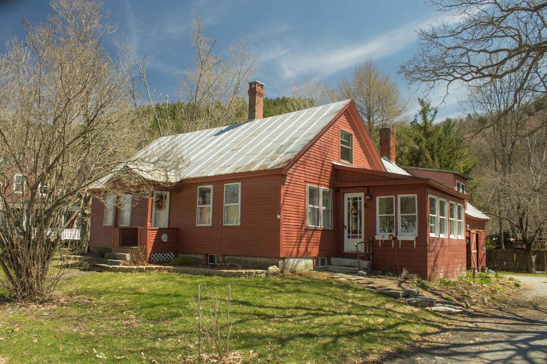 Single Family Homes for Sale at Three Bedroom Antique Cape in Chelsea 340 Vt Route 110 Chelsea, Vermont 05038 United States