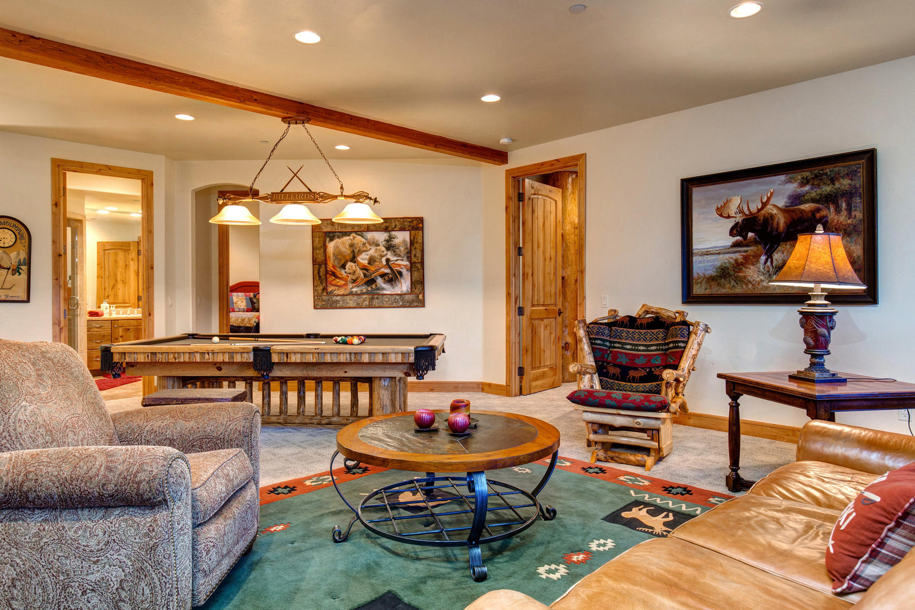Additional photo for property listing at Contemporary Rustic Home with Panoramic Ski Run Views 3515 Oak Wood Drive Park City, Utah 84060 United States
