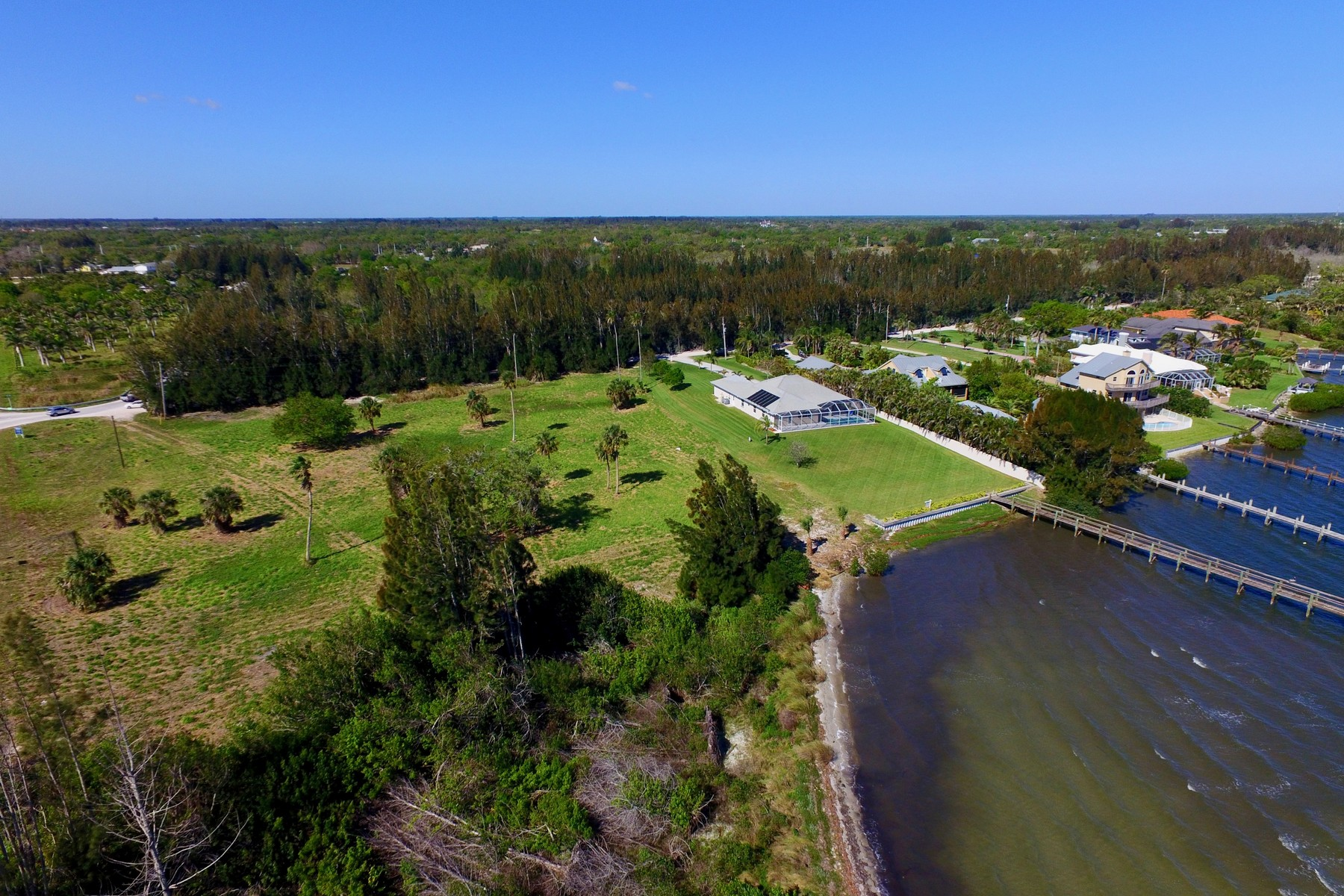 Land for Sale at Rarely Available Intracoastal Front Property! 8790 44th Avenue Sebastian, Florida 32958 United States