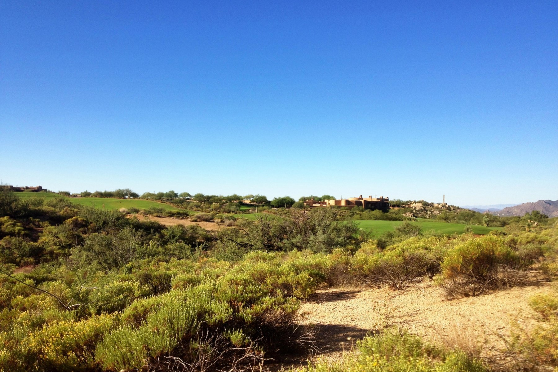 토지 용 매매 에 Saguaro Forest Golf Course Homesite 41248 N 96th St #121, Scottsdale, 아리조나, 85262 미국