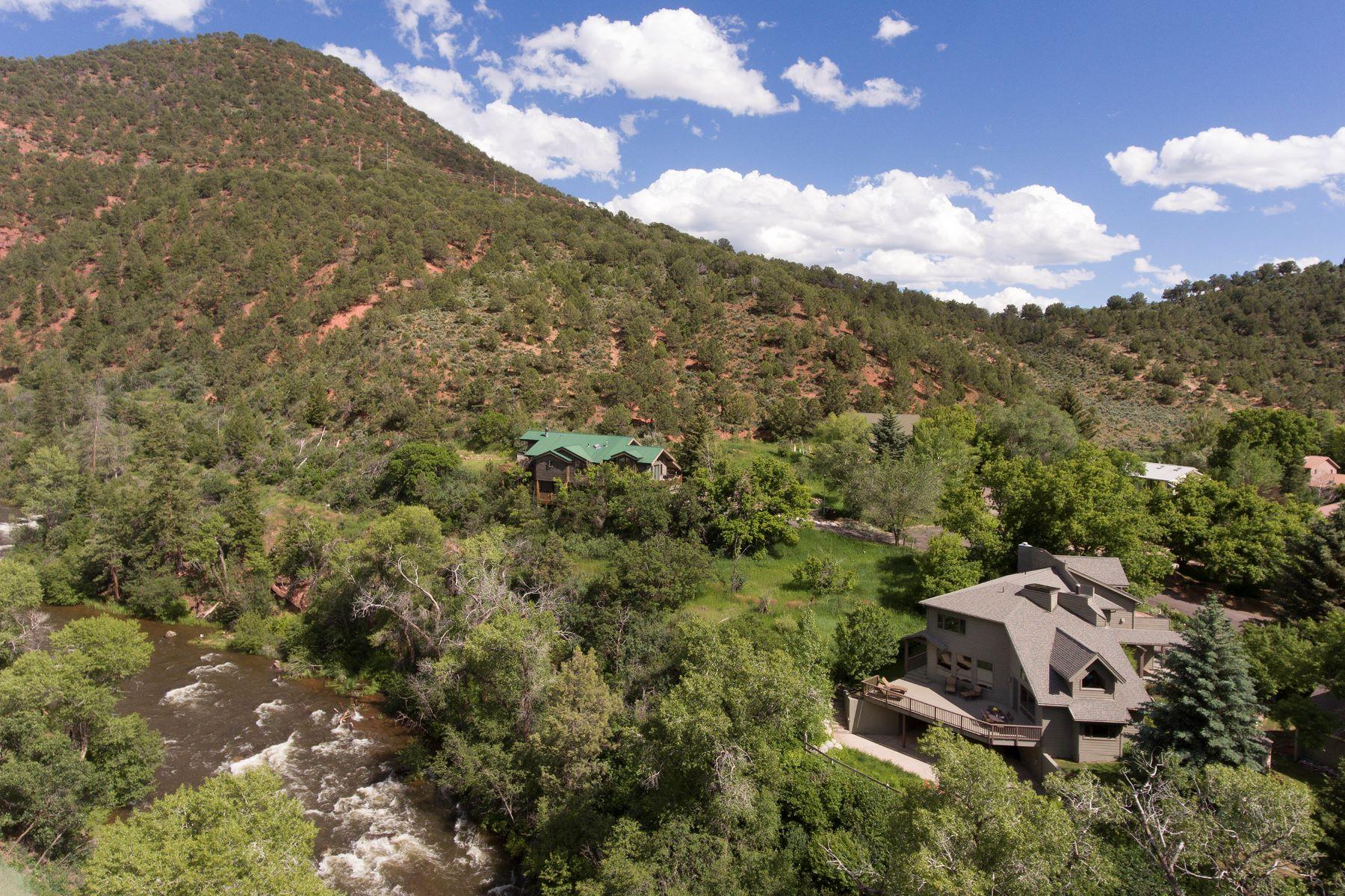 Single Family Homes para Venda às Excellent Basalt Riverfront Location 400 Meadow Lane, Basalt, Colorado 81621 Estados Unidos