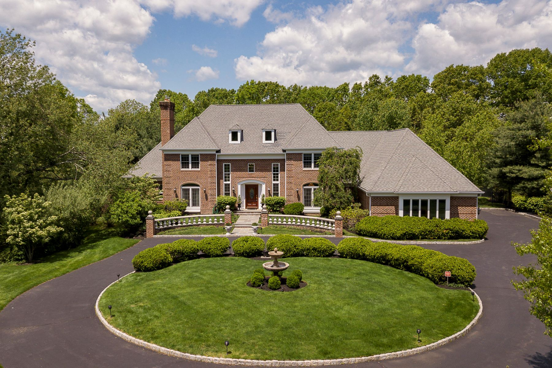 Single Family Home for Sale at Elegant and Stately In A Serene Setting 56 High Ridge Road, Skillman, New Jersey 08558 United States