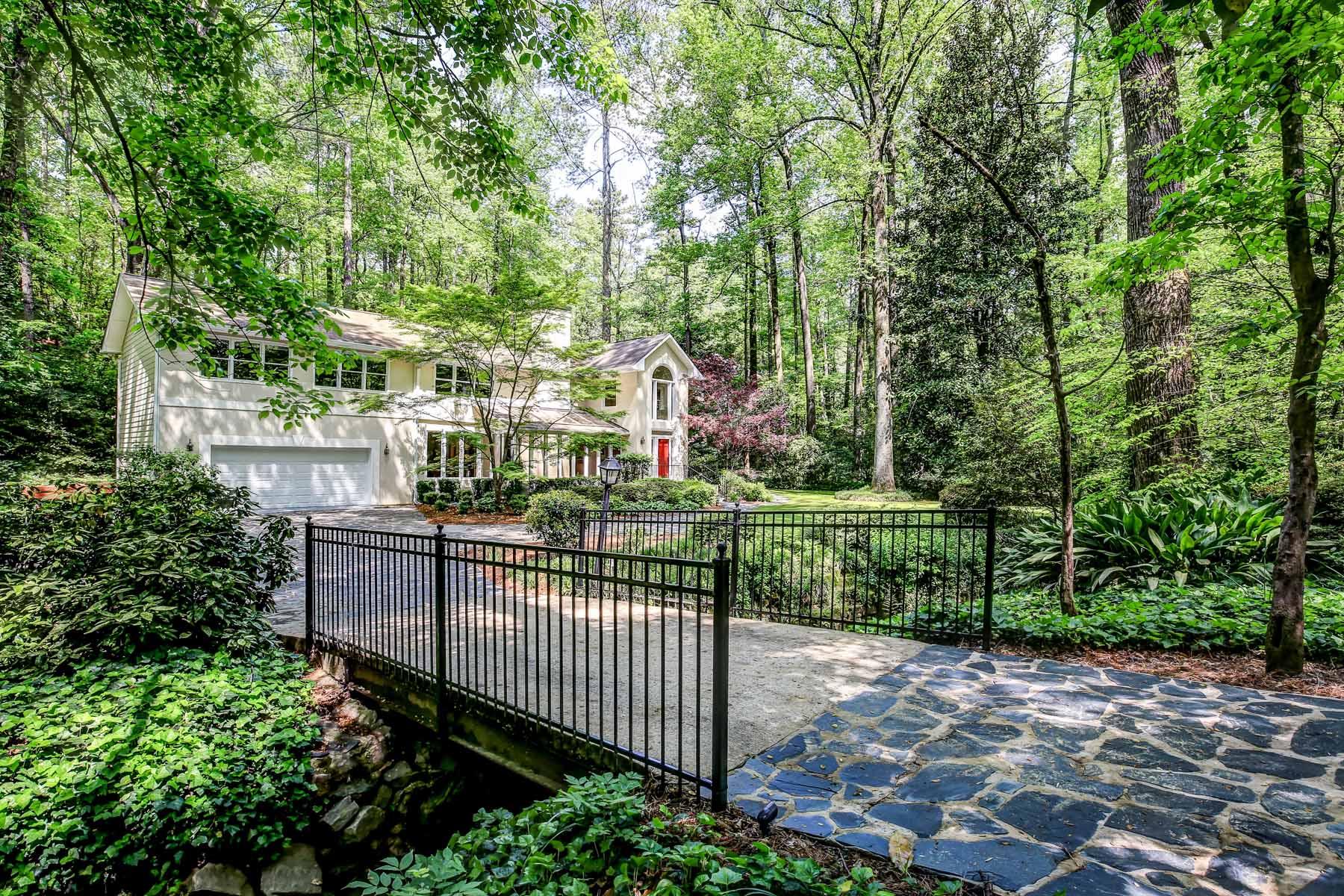단독 가정 주택 용 매매 에 Modern Home with an Amazing Estate Setting 1090 McConnell Drive Decatur, 조지아, 30033 미국