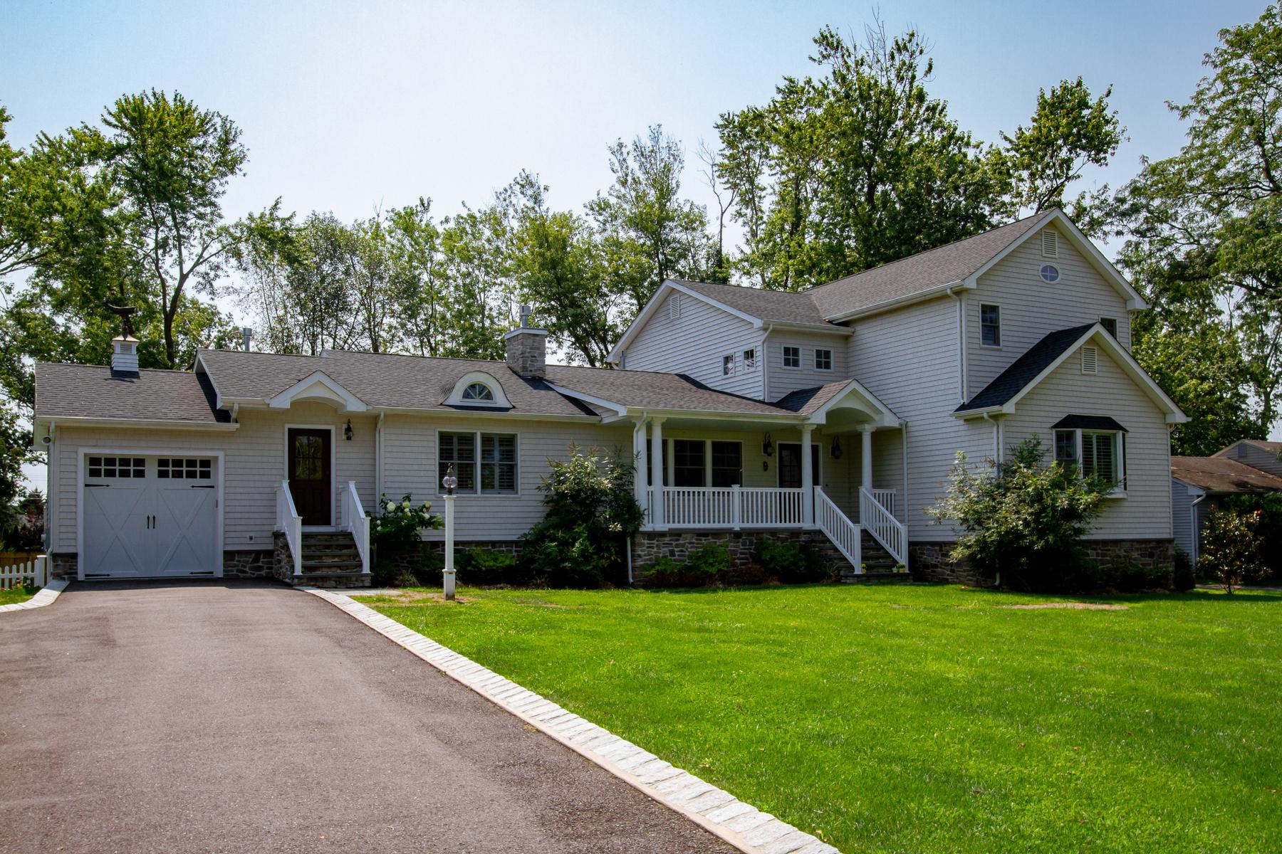 Single Family Homes pour l Vente à Little Silver 192 Winding Way S, Little Silver, New Jersey 07739 États-Unis