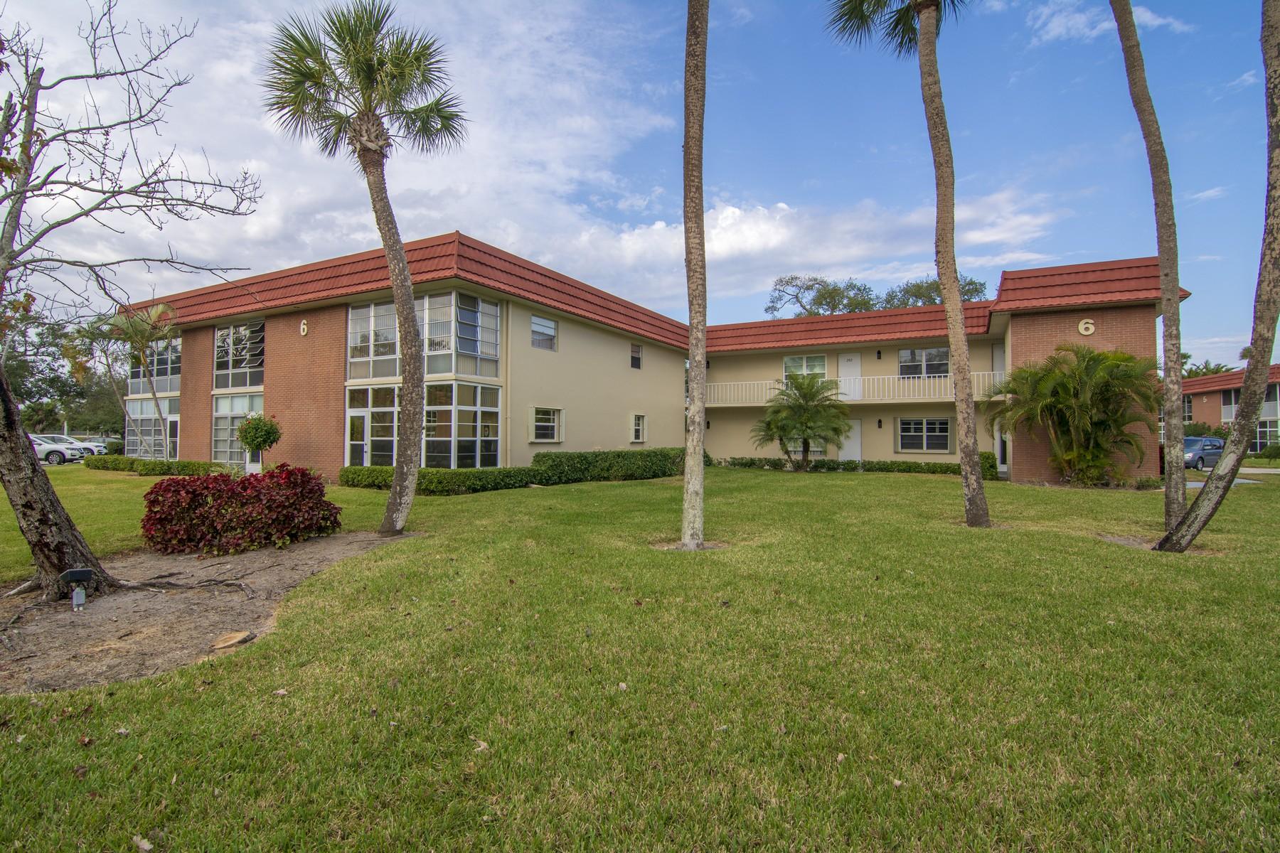 Condominium for Sale at Turn Key 55+ Condo in Excellent Condition 6 Vista Palm Lane #205 Vero Beach, Florida 32962 United States