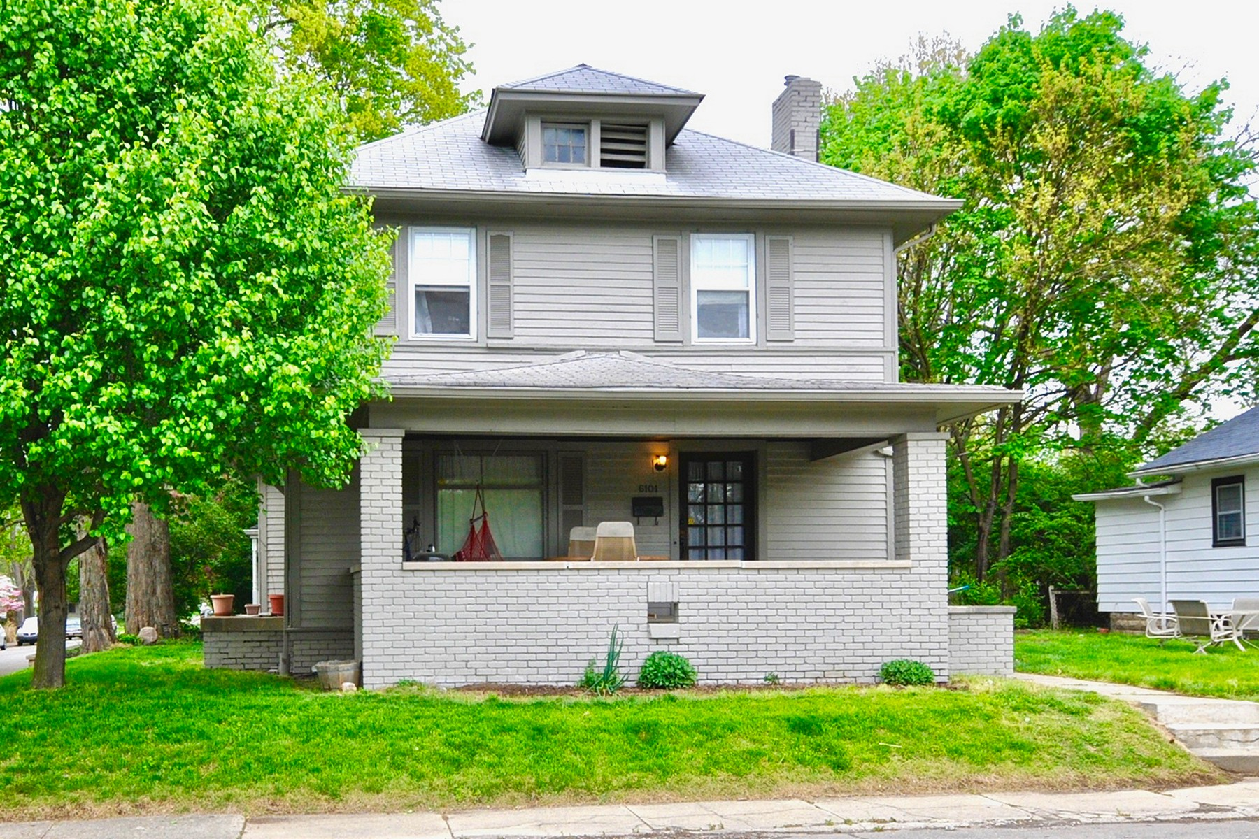 Single Family Home for Sale at Very Spacious Broad Ripple Home 6101 Broadway Street Indianapolis, Indiana 46220 United States
