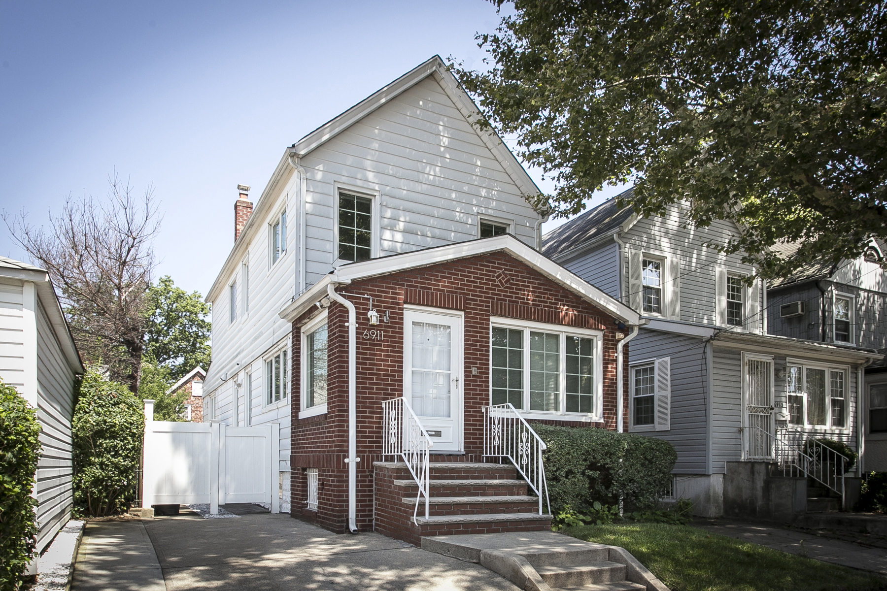 "Single Family Home for Sale at ""DESIGNED FOR LIFE"" 69-11 Olcott Street, Forest Hills, New York 11375 United States"