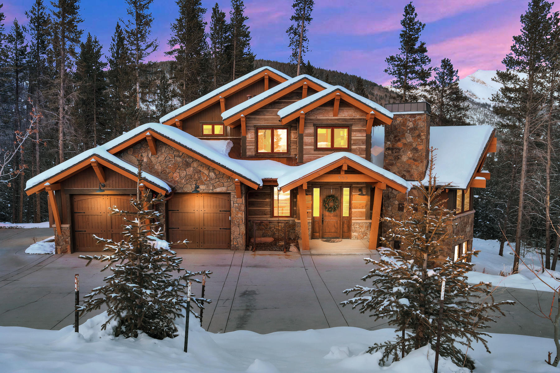 Single Family Home for Active at Luxury Copper Ski Home 903 Beeler Place Copper Mountain, Colorado 80443 United States