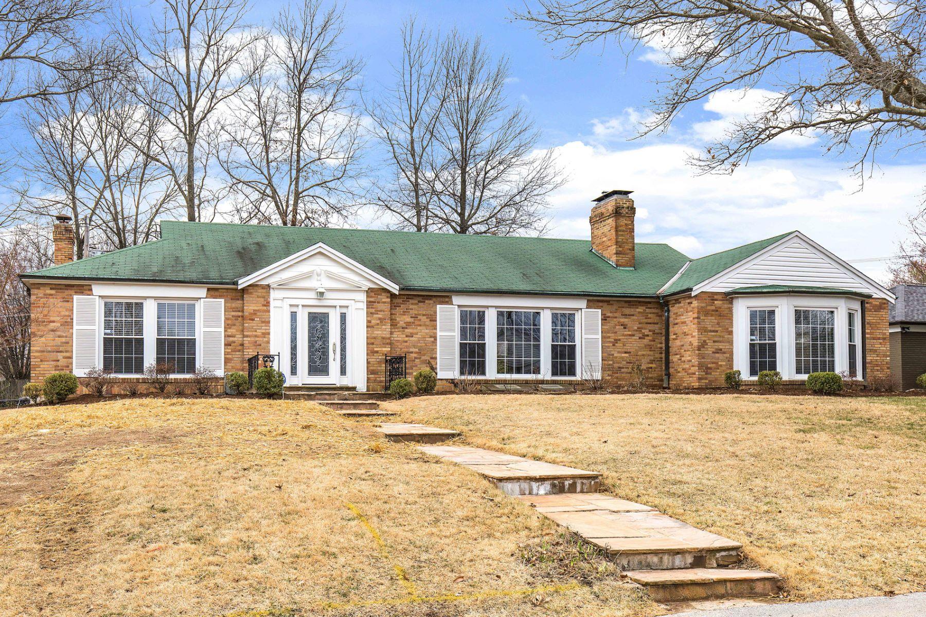 Maison unifamiliale pour l à vendre à Ladue Hills 4 Ladue Hills Dr, Olivette, Missouri, 63132 États-Unis