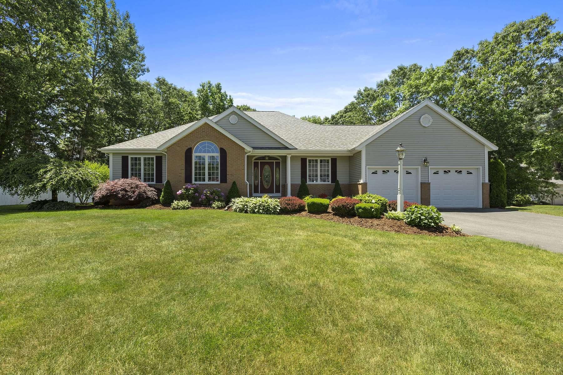 Single Family Homes for Sale at 64 Twin Brook Lane, Taunton 64 Twin Brook Ln Taunton, Massachusetts 02780 United States