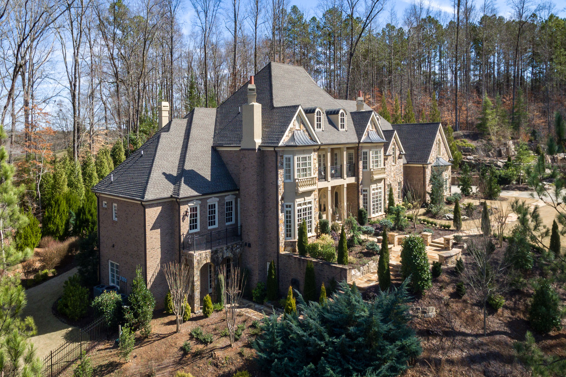 sales property at Absolutely stunning custom European-inspired estate