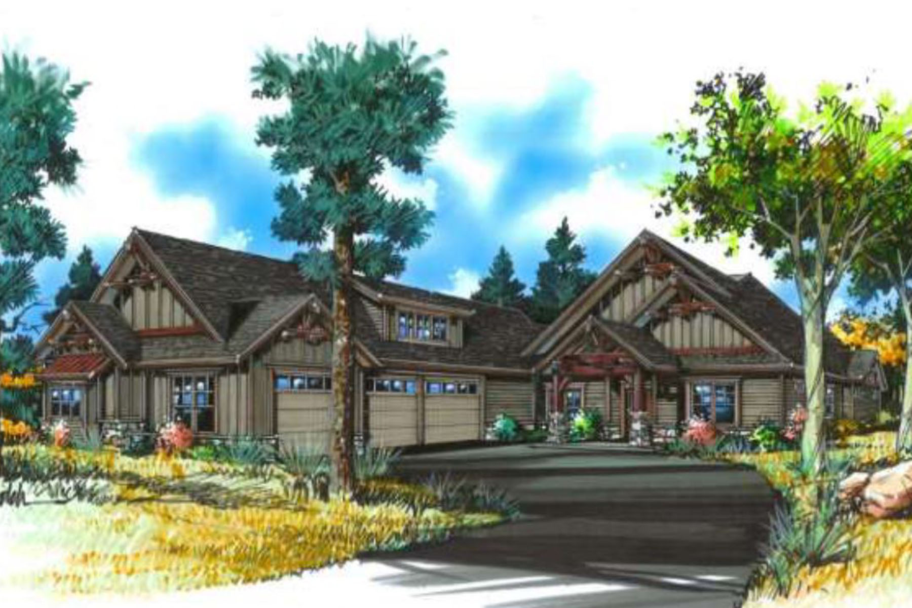 Single Family Home for Sale at Mountain Views Rustic Craftsman 7170 W Chardonnay Ln Coeur D Alene, Idaho, 83814 United States