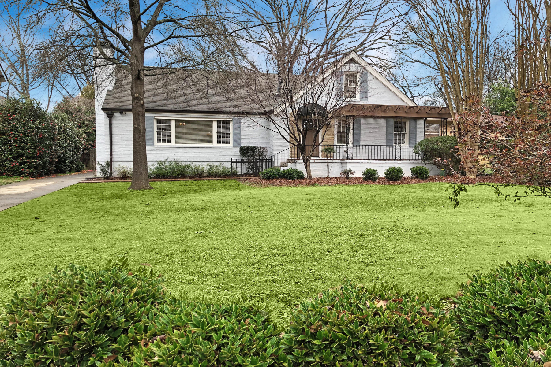 Single Family Home for Sale at Perfect All Brick Bungalow In The Heart Of Virginia Highland 1336 Briarwood Drive NE, Virginia Highland, Atlanta, Georgia, 30306 United States