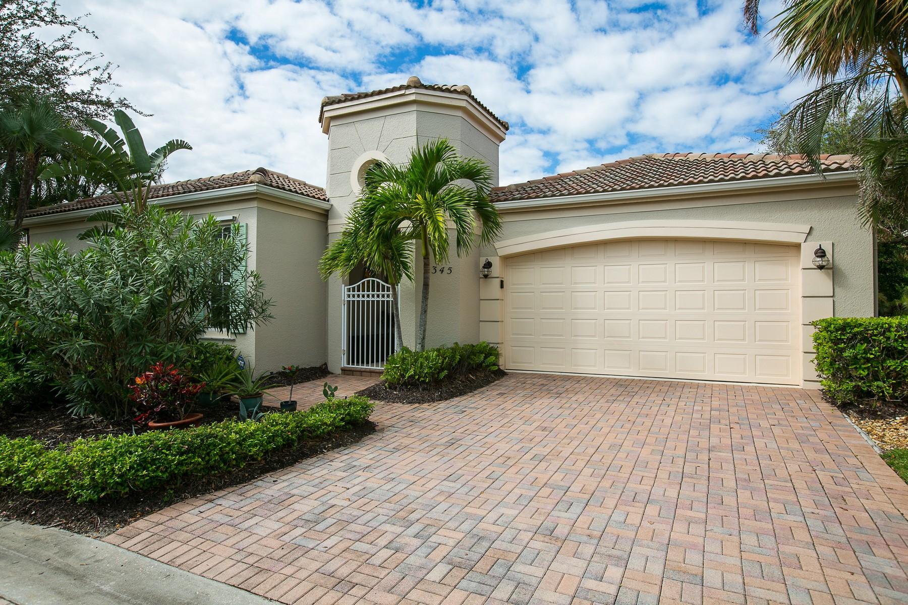 Частный односемейный дом для того Продажа на Stunning Home in Old Orchid 9345 W Maiden Court, Vero Beach, Флорида, 32963 Соединенные Штаты