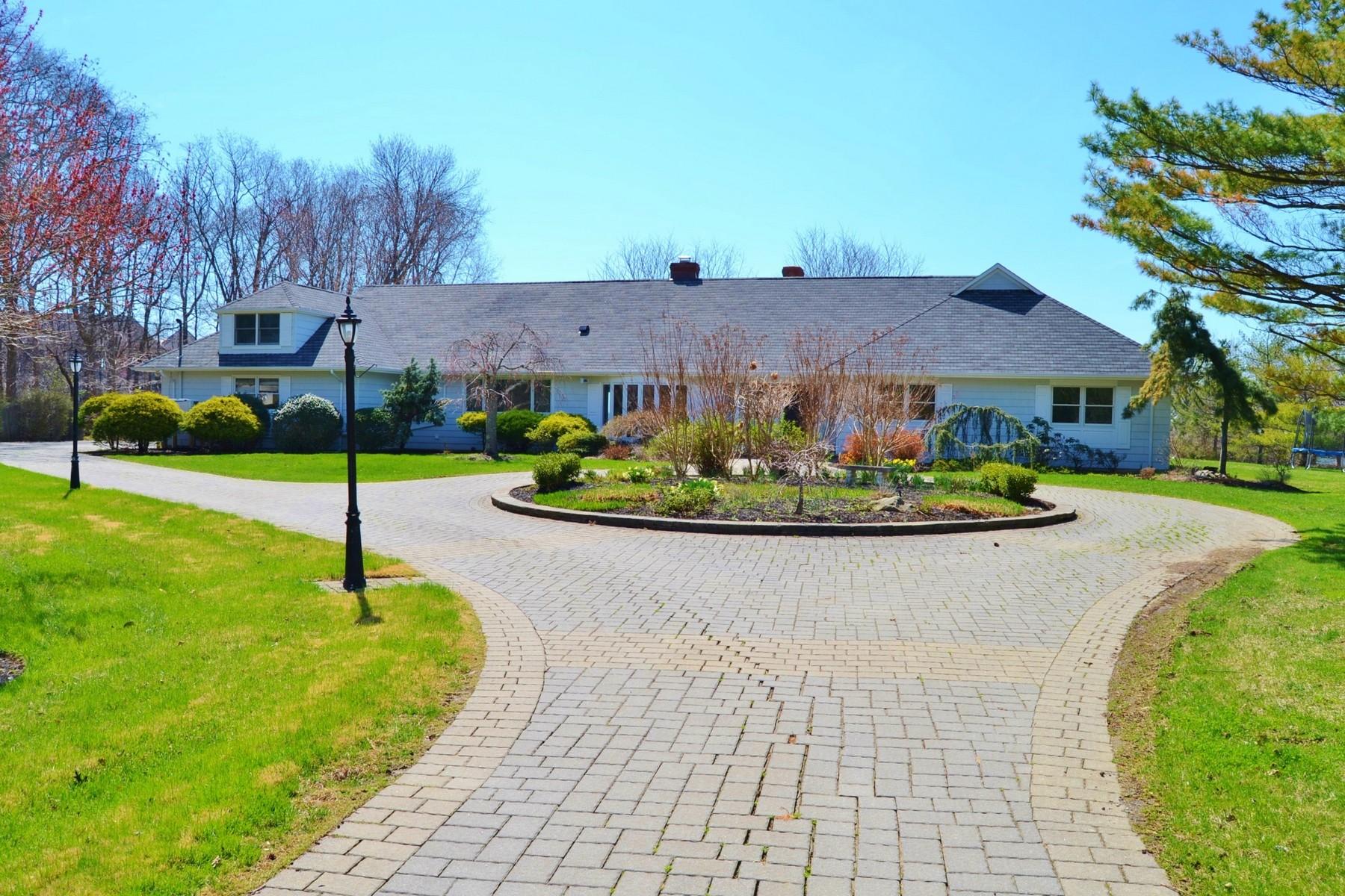 Casa Unifamiliar por un Alquiler en Private Waterfront Home Rumson, Nueva Jersey 07760 Estados Unidos