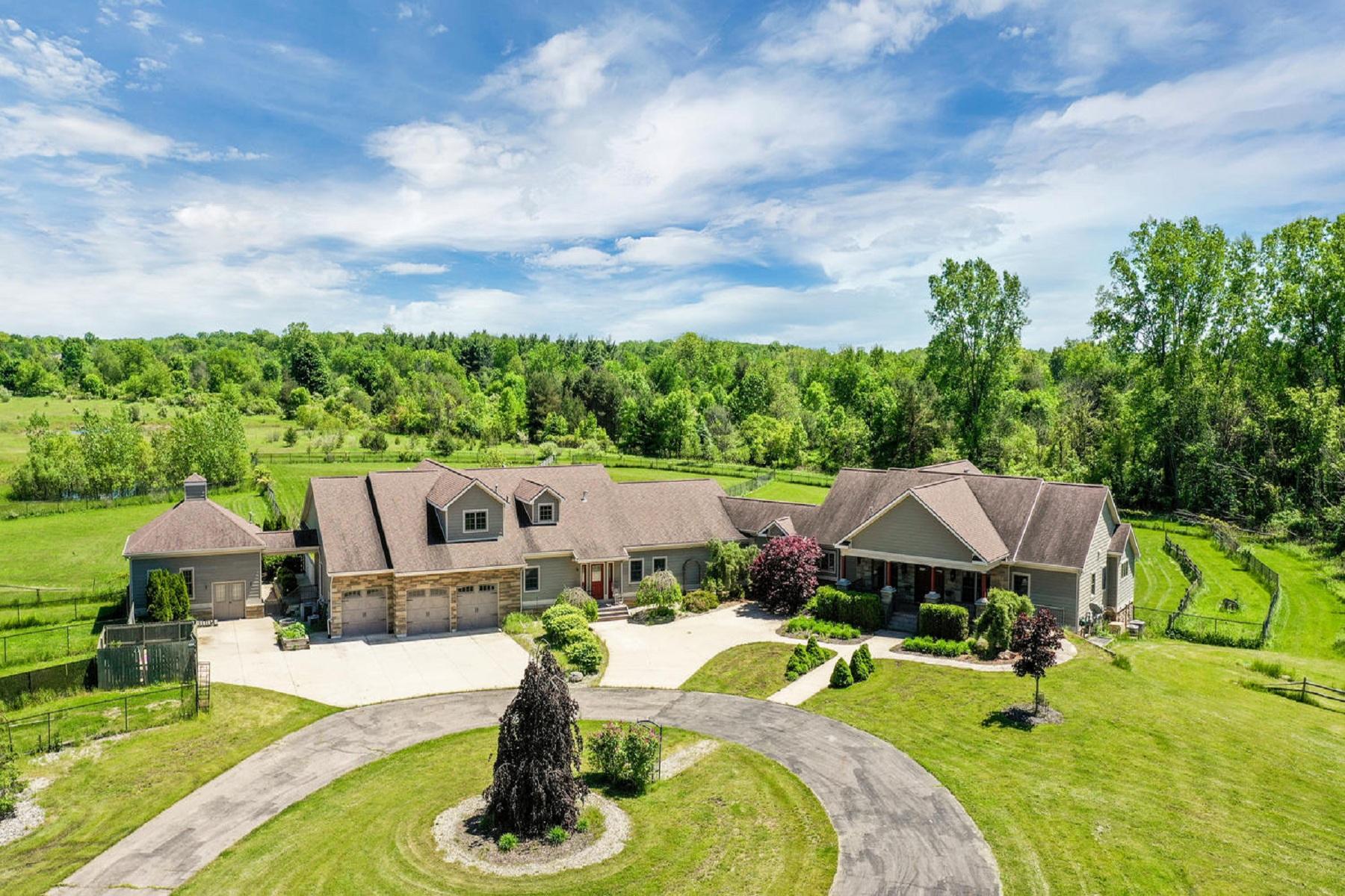 Single Family Homes for Sale at Williamston 102 Turner Road Williamston, Michigan 48895 United States