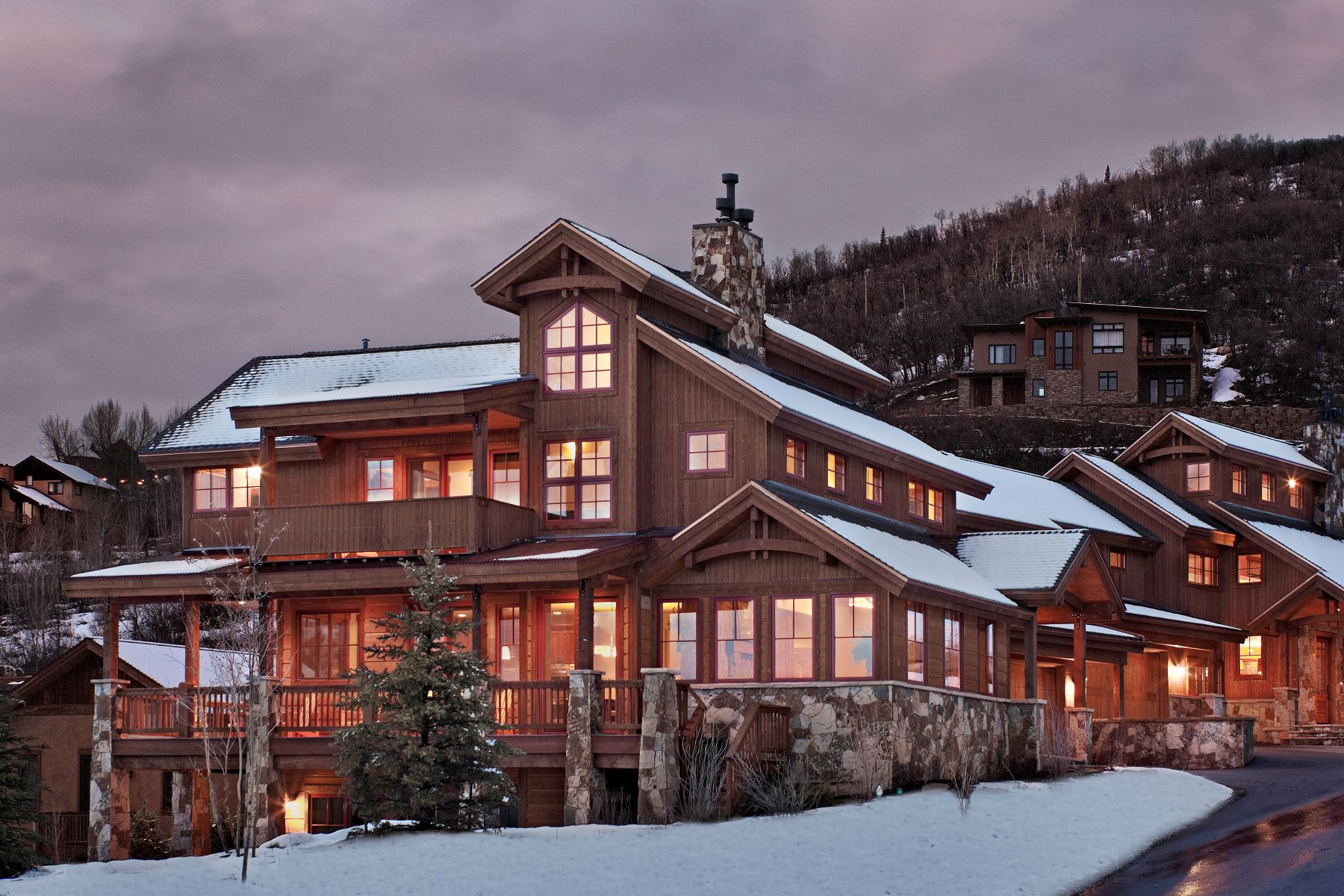 Single Family Home for Sale at Chalet Beliza, Steamboat Springs - CO 2670 Alpenglow Way Steamboat Springs, Colorado 80487 United States