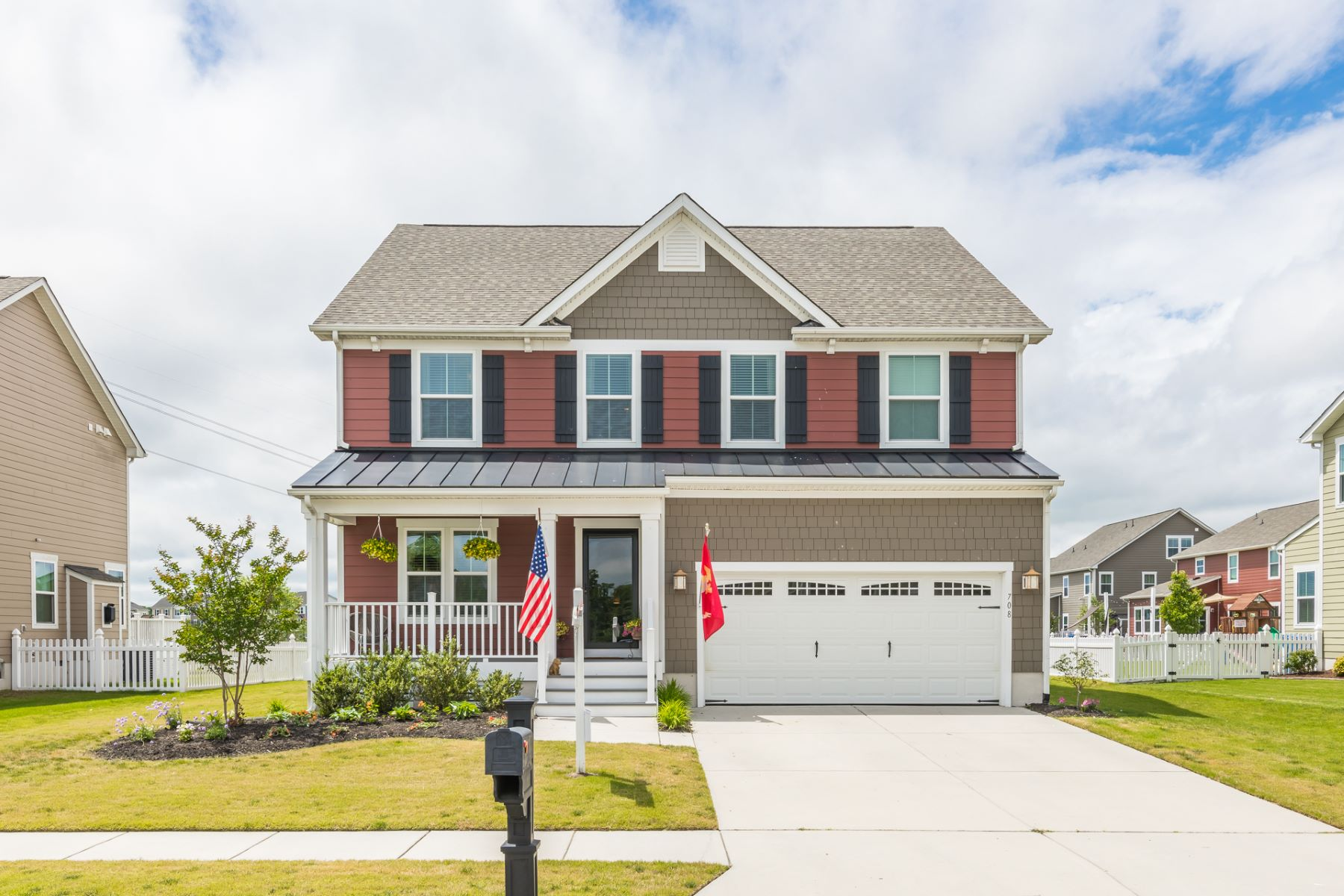 single family homes pour l Vente à CULPEPPER LANDING 708 Canoe Street Chesapeake, Virginia 23323 États-Unis