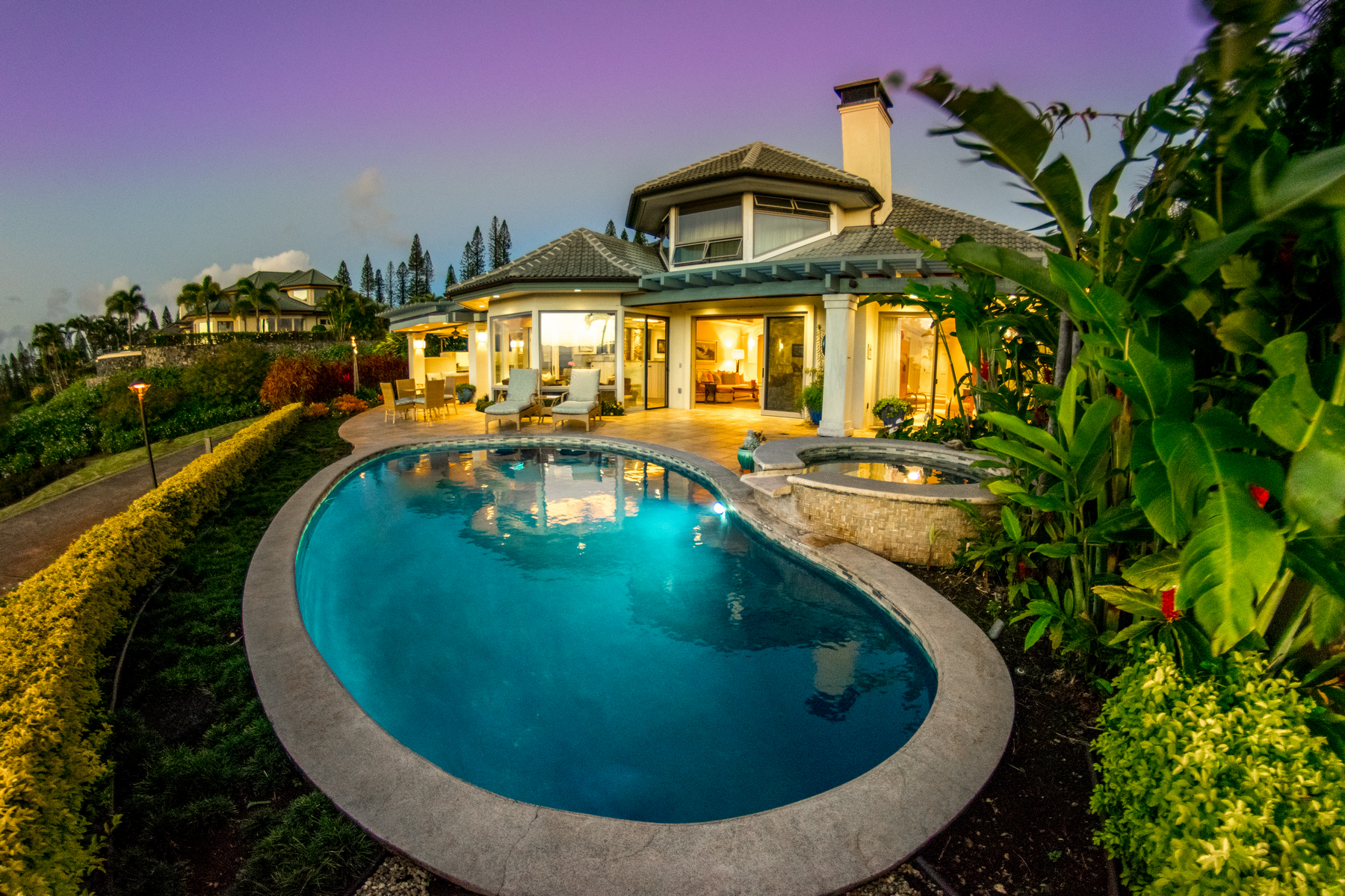 Single Family Home for Active at Live Pineapple Hill 600 Silversword Dr Kapalua, Hawaii 96761 United States