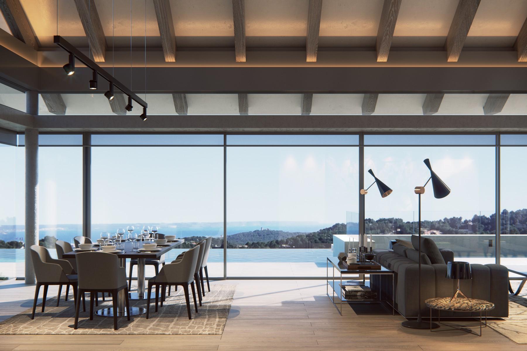 Maison unifamiliale pour l Vente à New-built luxury Villa in Son Vida Son Vida, Majorque, Espagne