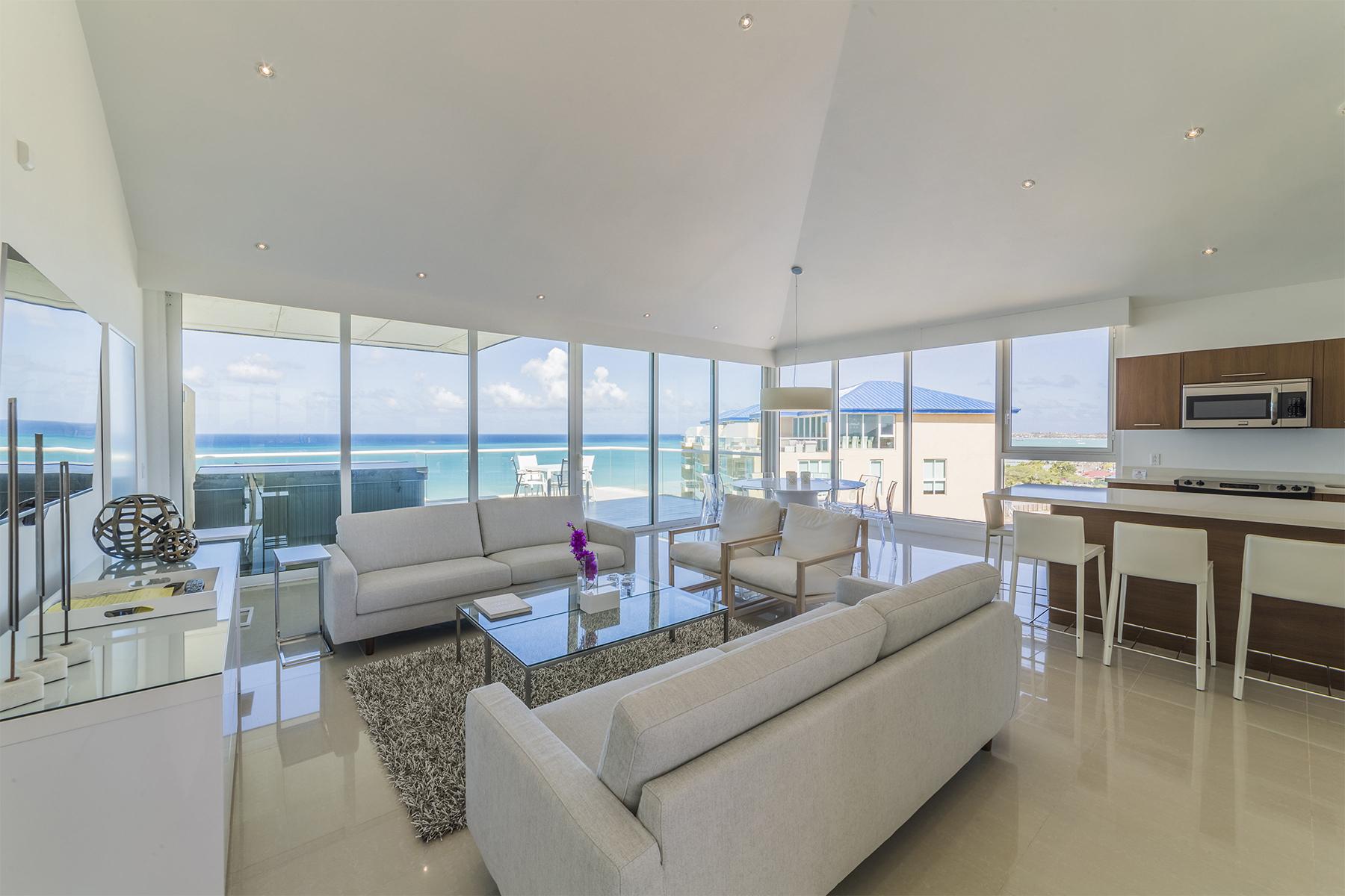 独户住宅 为 销售 在 Blue Penthouse Eagle Beach, 阿鲁巴 阿鲁巴岛
