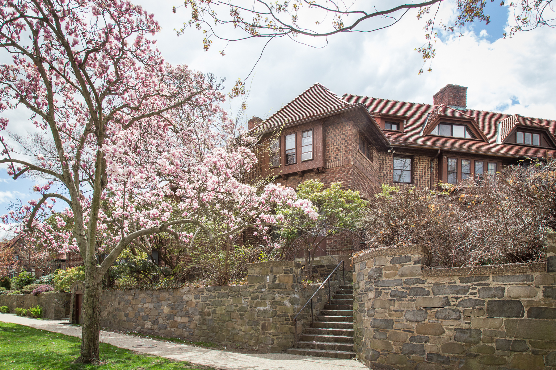 """Single Family Homes for Sale at """"STRIKING ORIGINAL ATTERBURY"""" 9 Markwood Road,, Forest Hills Gardens, Forest Hills, New York 11375 United States"""
