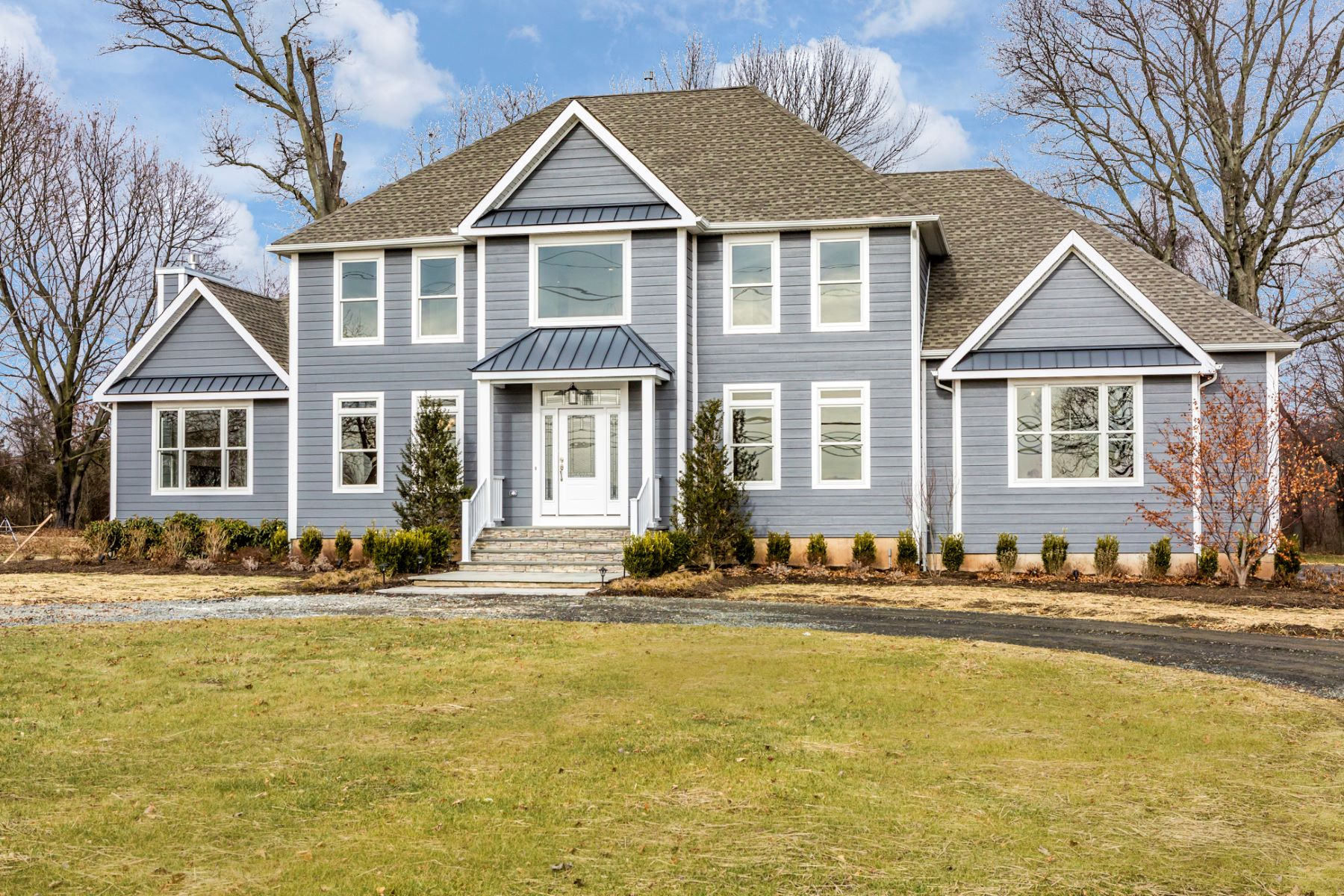 Maison unifamiliale pour l Vente à Elegant Addition to a Stretch of Fine Properties 9 Elm Ridge Road, Pennington, New Jersey 08534 États-UnisDans/Autour: Hopewell Township