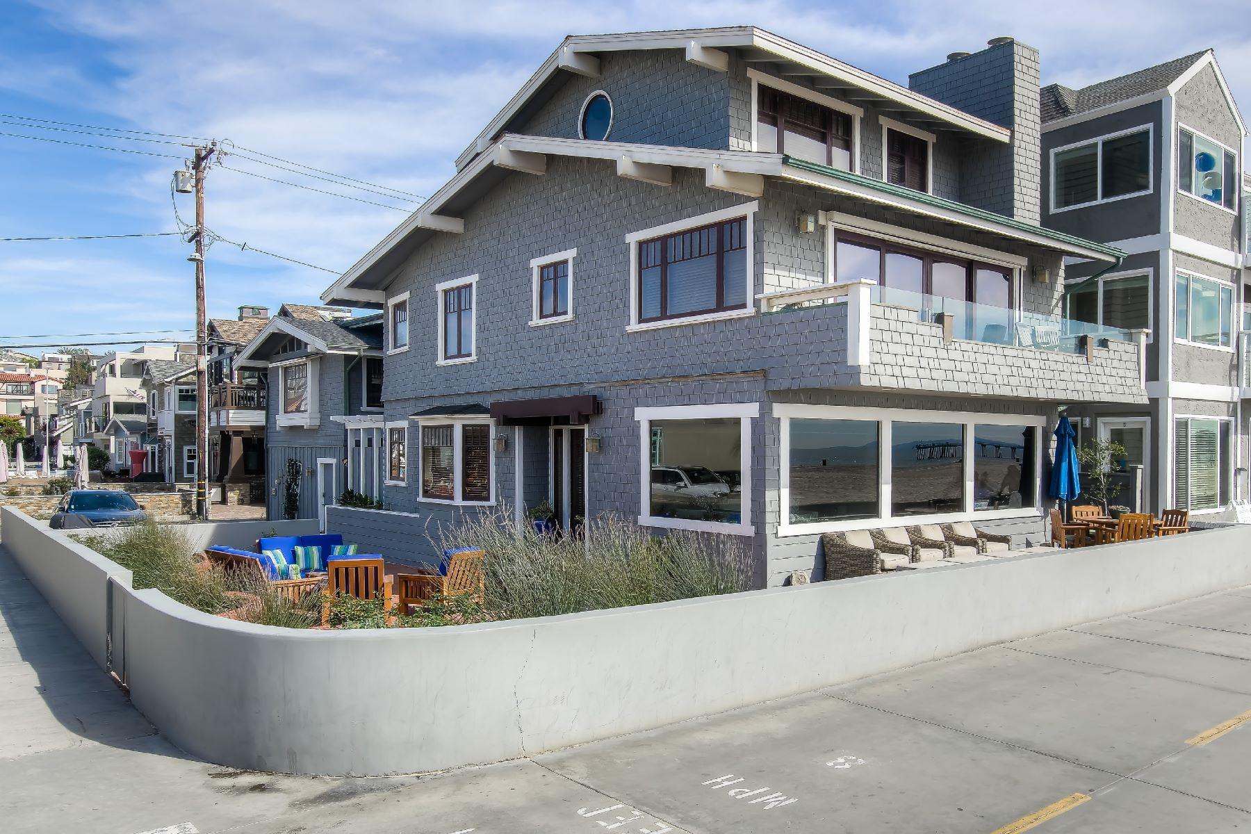 Частный односемейный дом для того Аренда на 1838 The Strand, Hermosa Beach 90254 Hermosa Beach, Калифорния, 90254 Соединенные Штаты