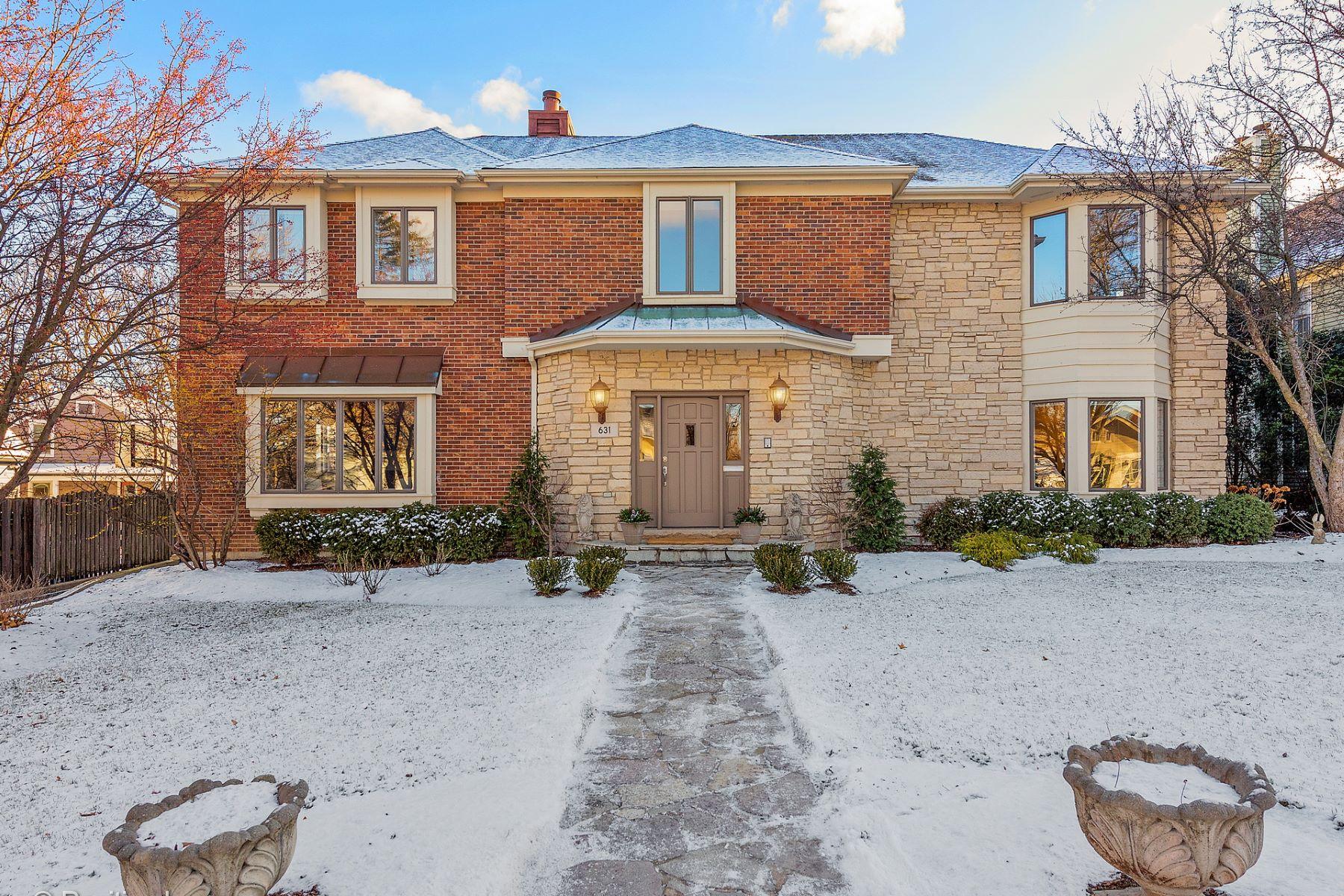 Casa Unifamiliar por un Venta en 631 N Lincoln Hinsdale, Illinois Hinsdale, Illinois, 60521 Estados Unidos